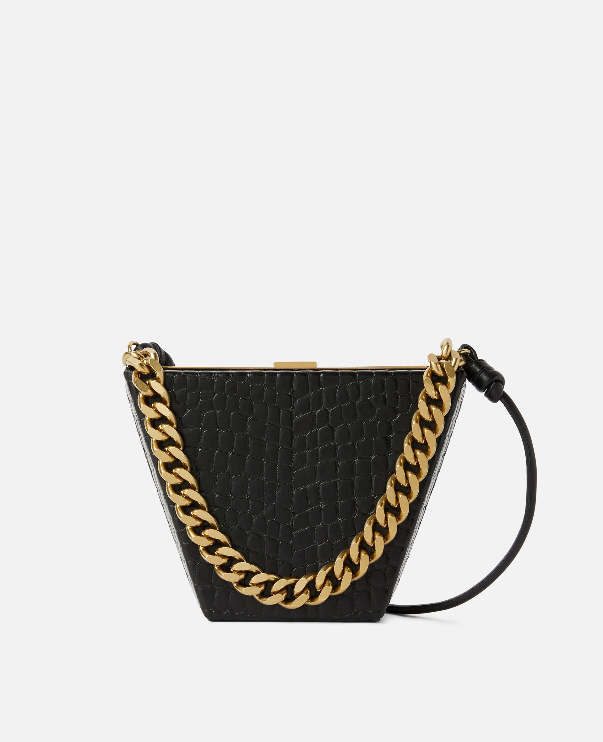 Medium Chunky Chain Bag-Black-large image number 0