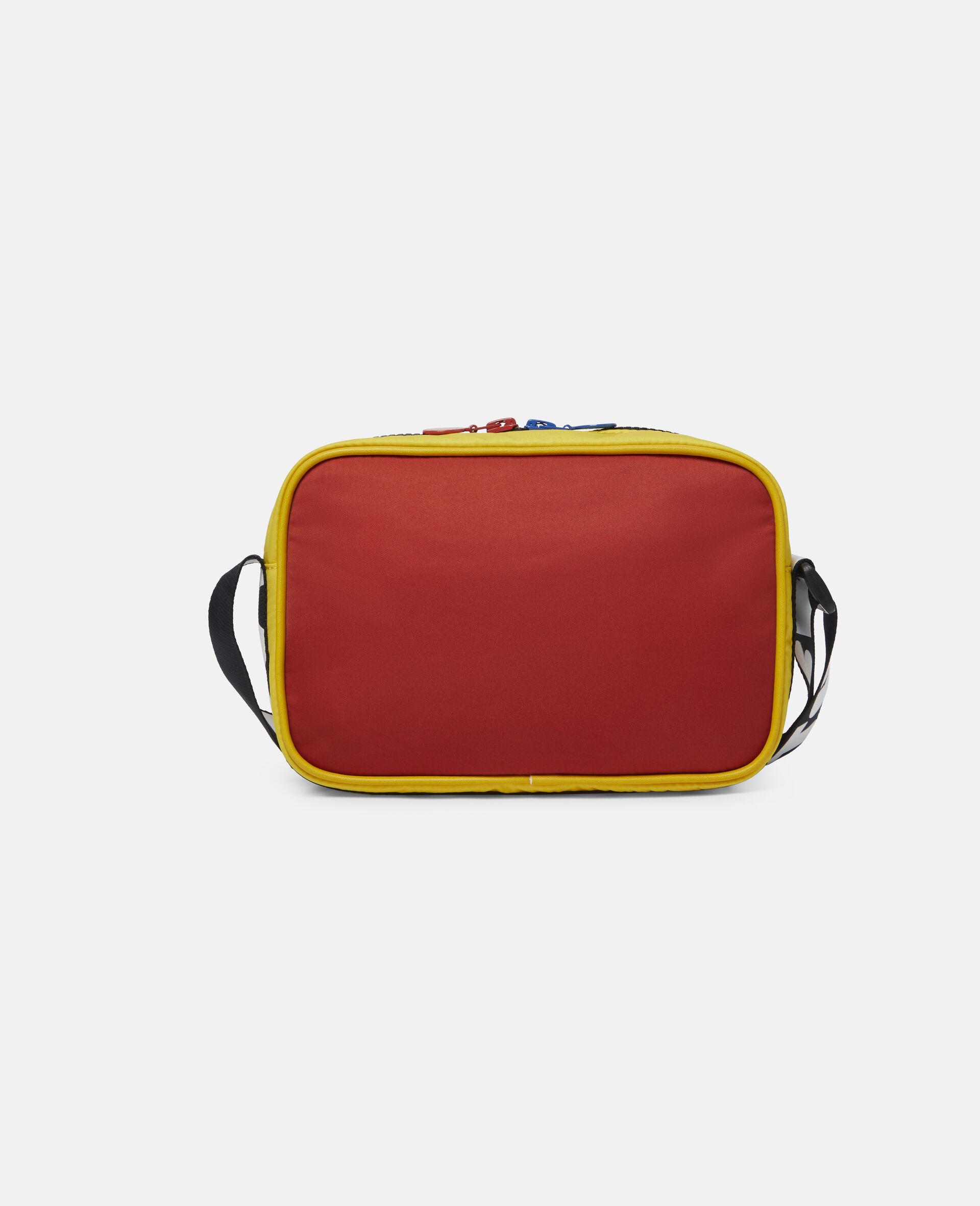 Colourblock Logo Shoulder Bag -Multicolour-large image number 3