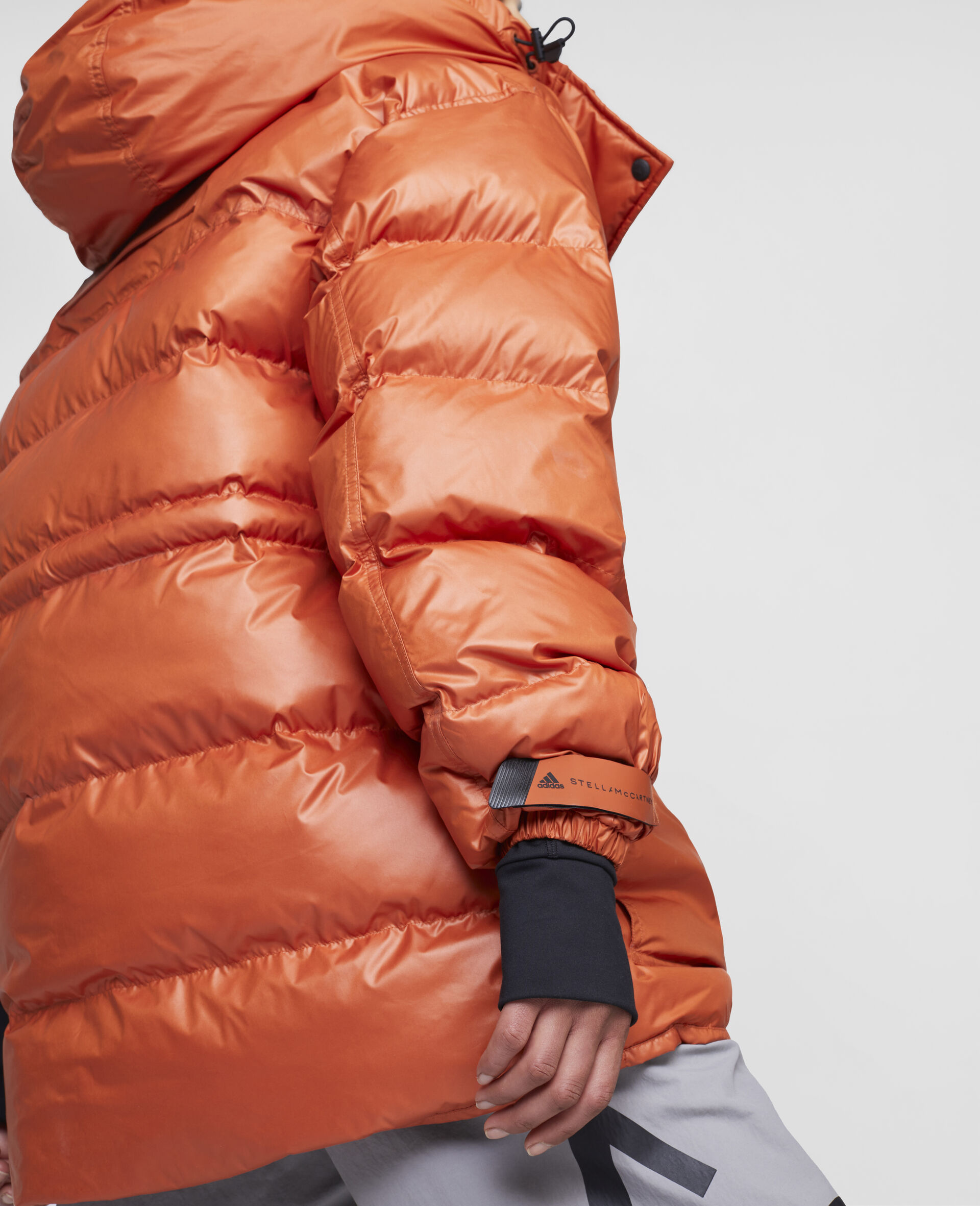 Training Mid Puffer Jacket-Orange-large image number 3