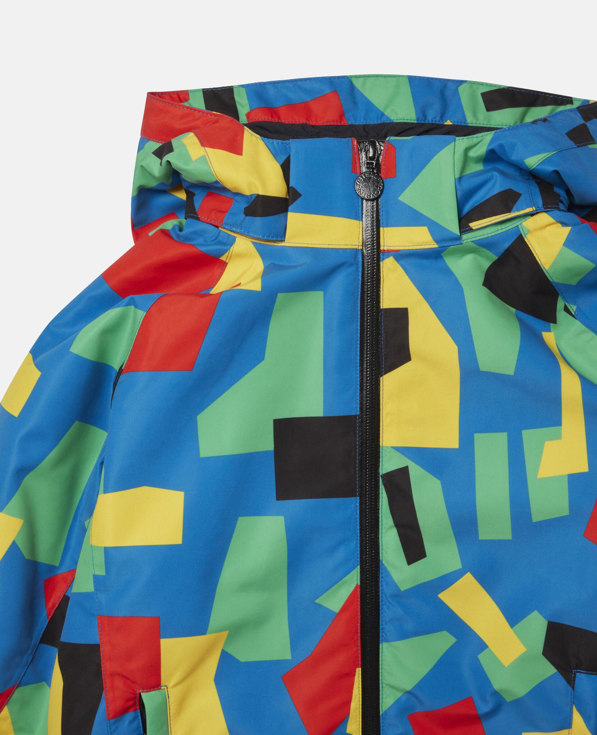 Colourblock Ski Jacket-Multicolour-large image number 1