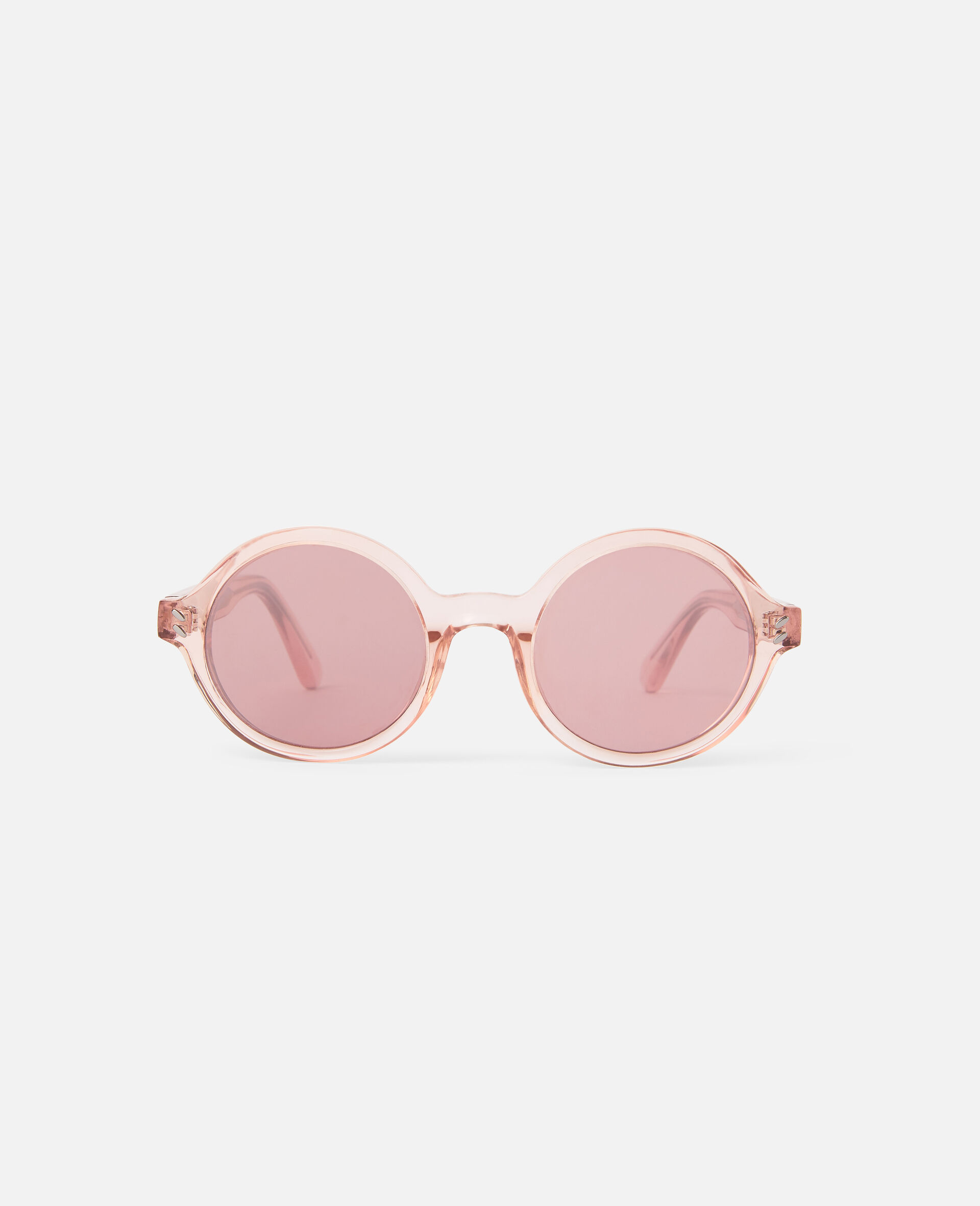Round Sunglasses-Brown-large image number 0