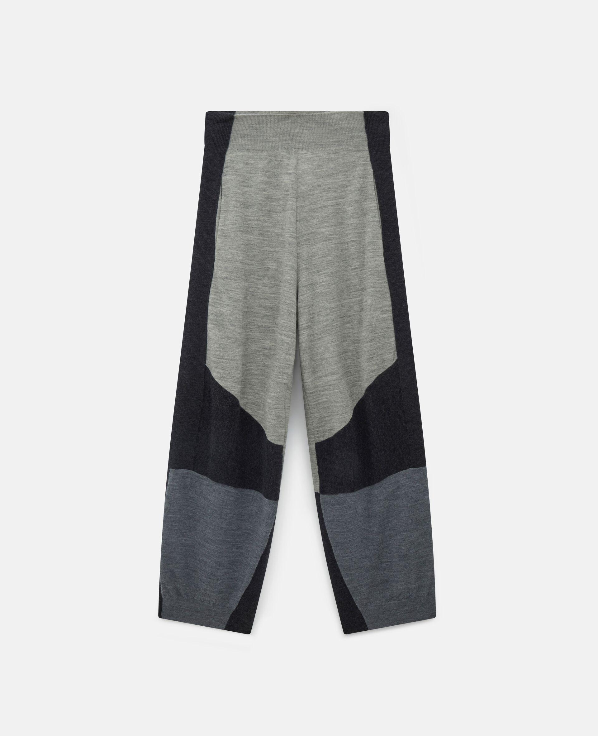 针织裤装-灰色-large image number 0