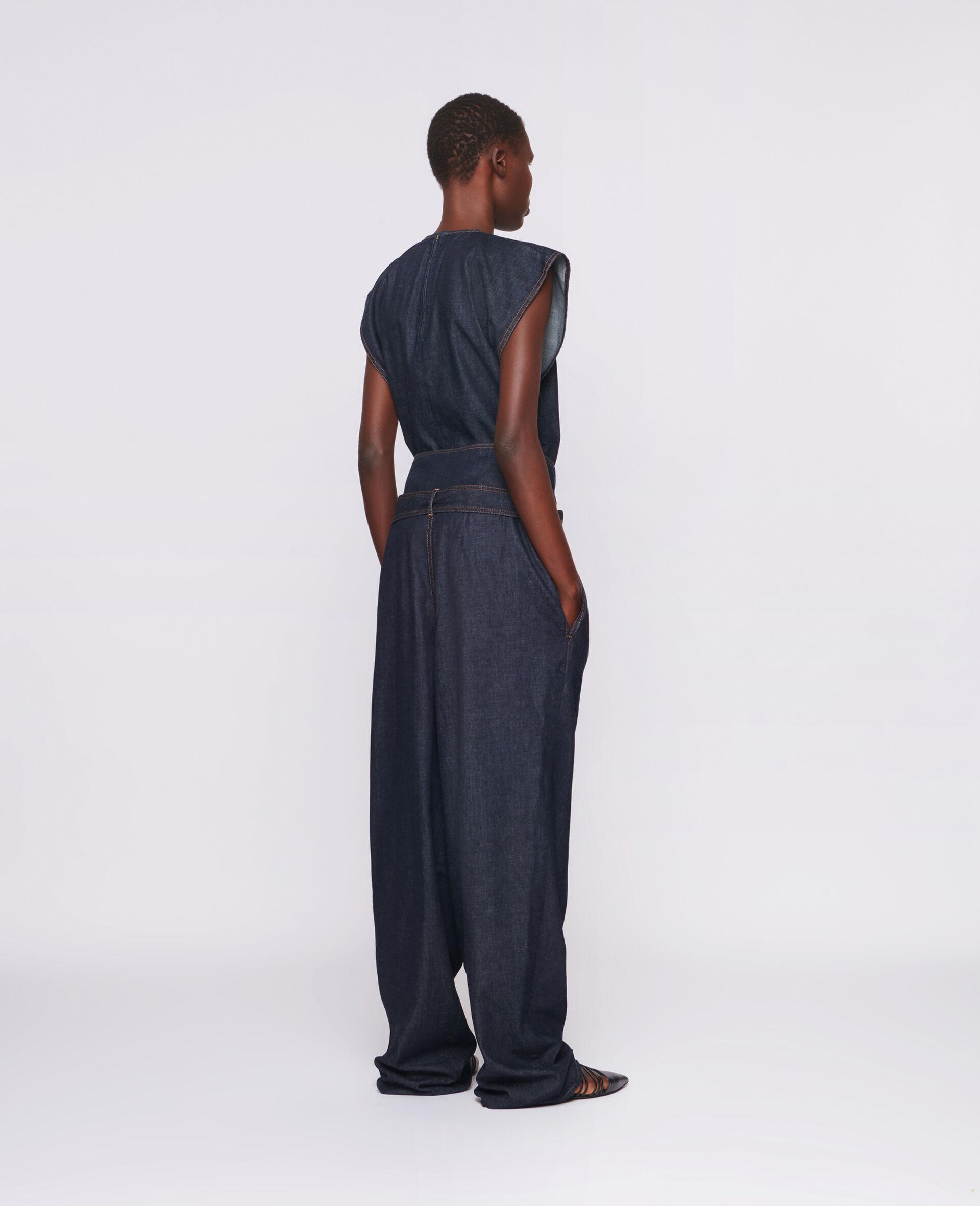 Harley Washed Denim Pants-Blue-large image number 1