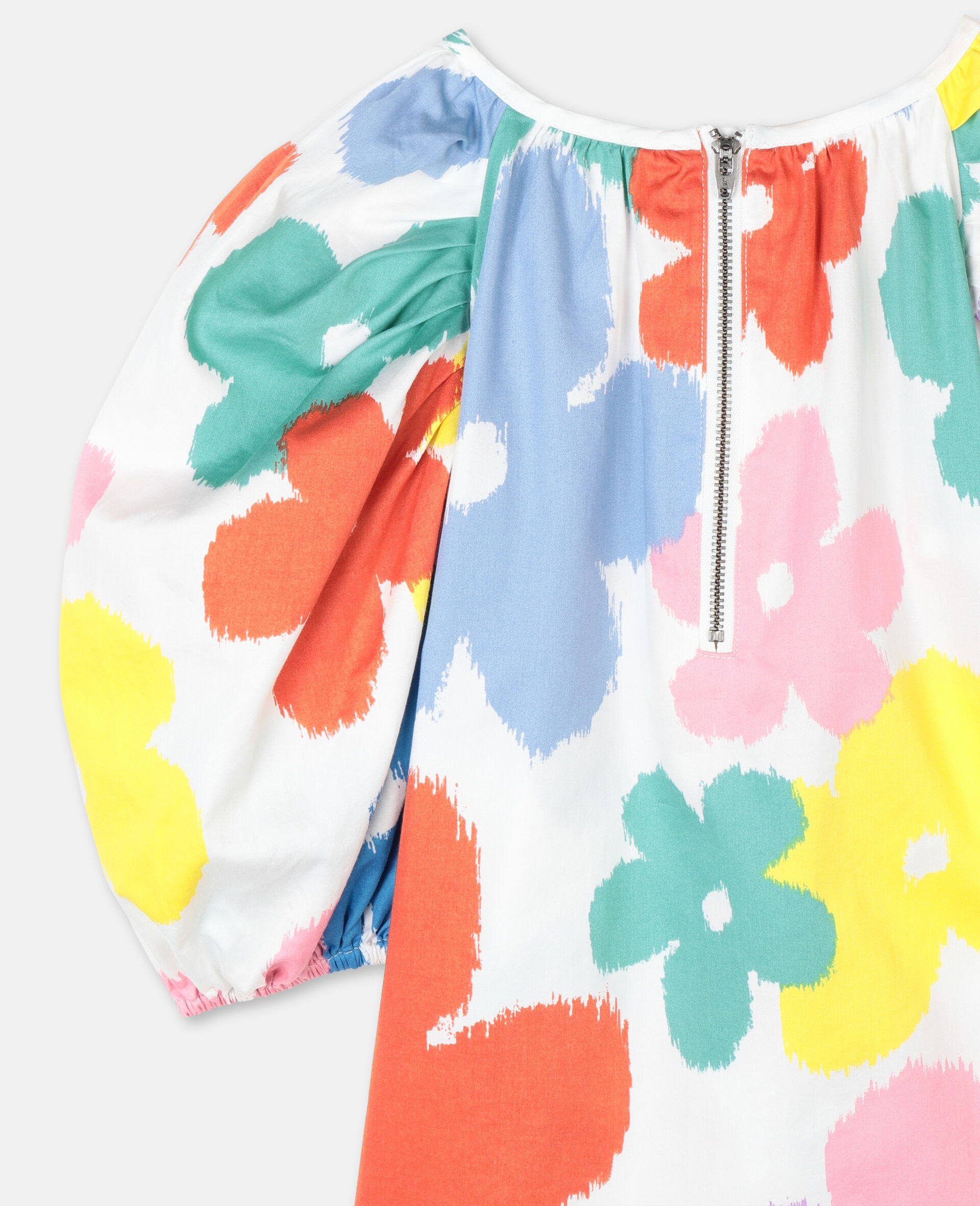 Flowers Cotton Top-Multicolour-large image number 2