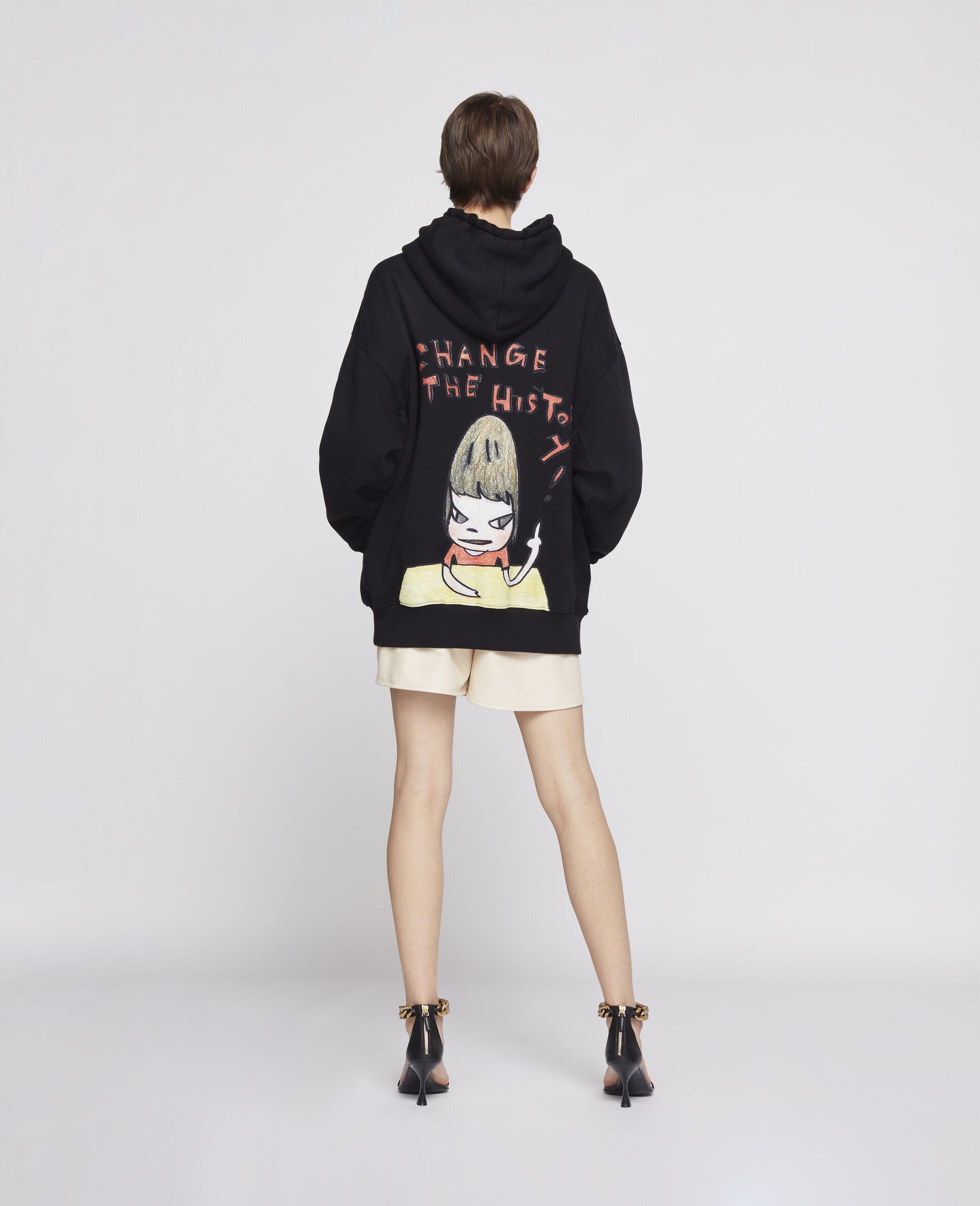 Nara Organic Cotton Hoodie-Black-large image number 2