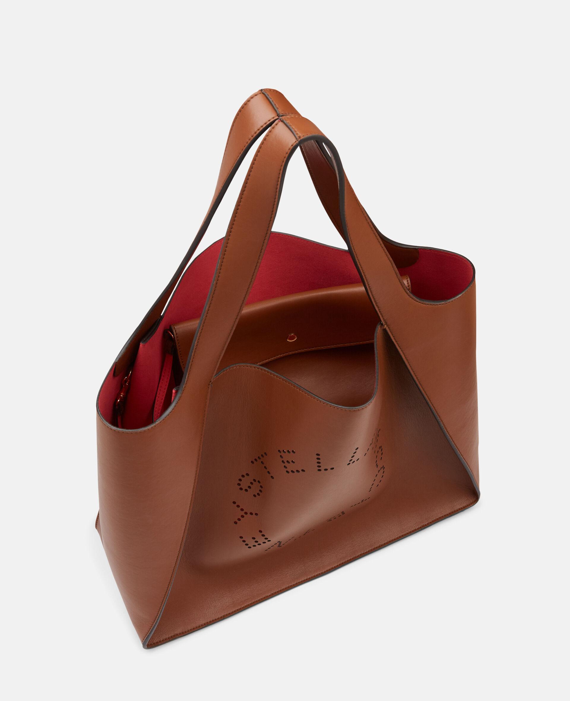 Stella Logo Tote Bag-Brown-large image number 3