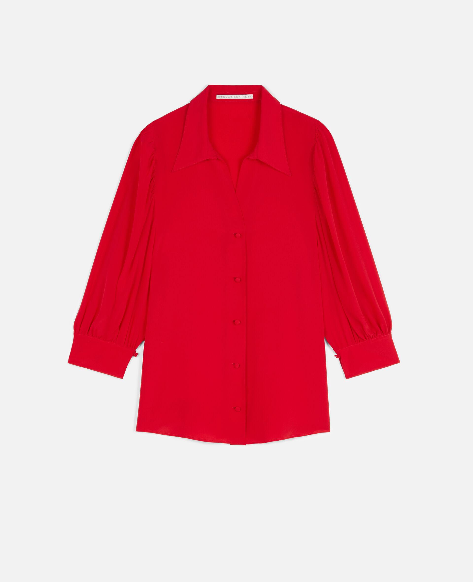 Reese Silk Shirt -Black-large image number 0