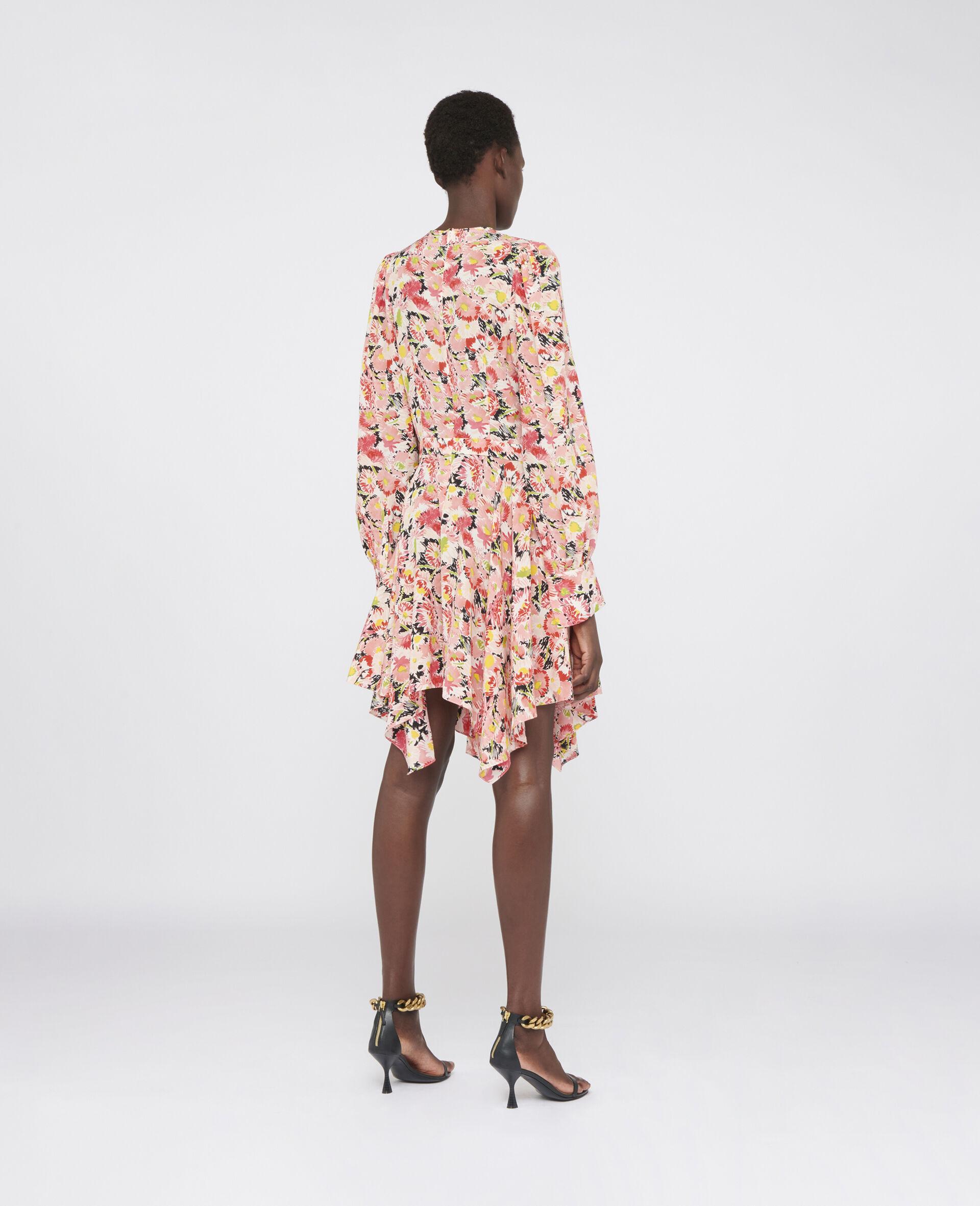 Felicity Silk Dress-Multicolour-large image number 2