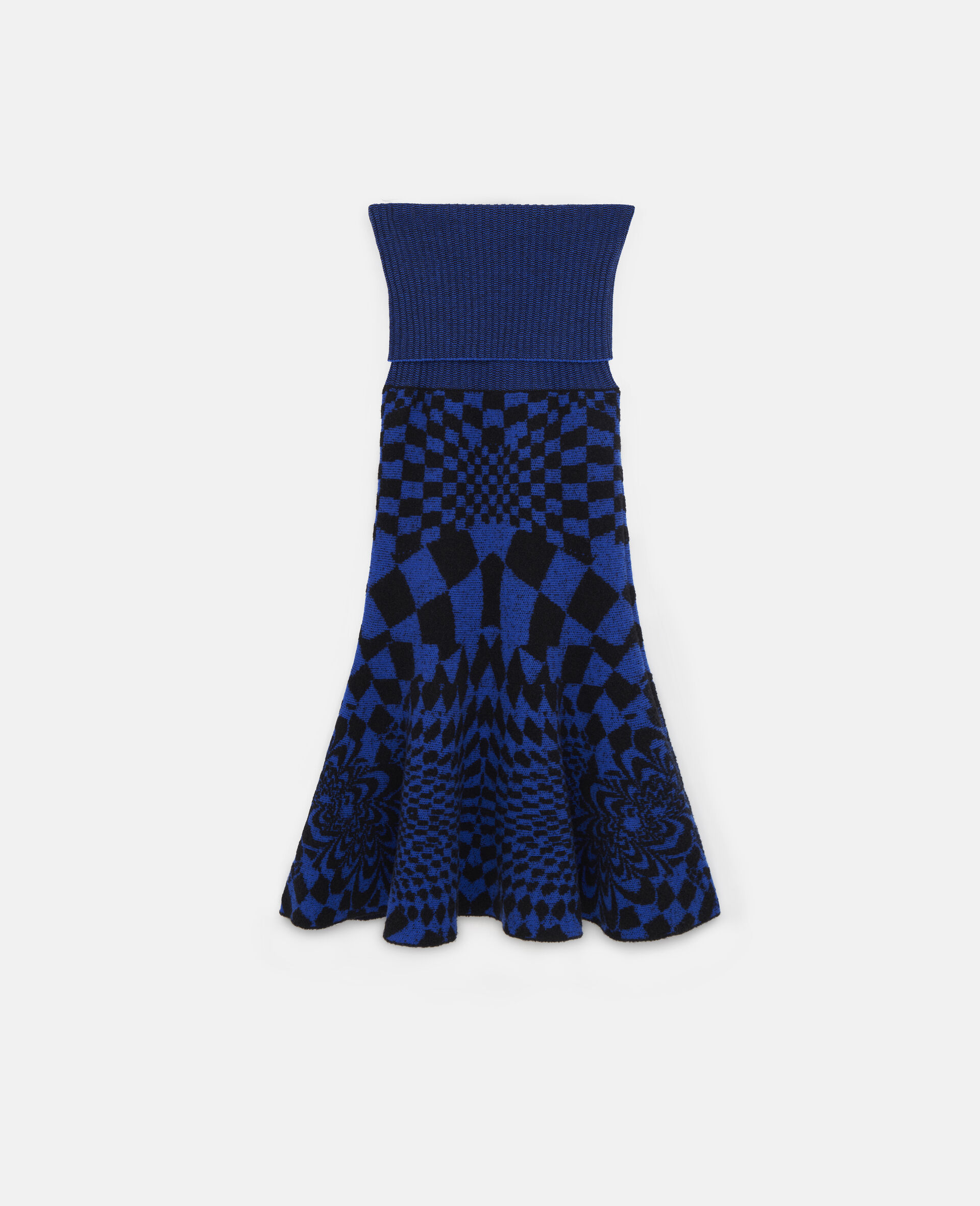 Geometric Pattern Skirt-Multicolour-large image number 0