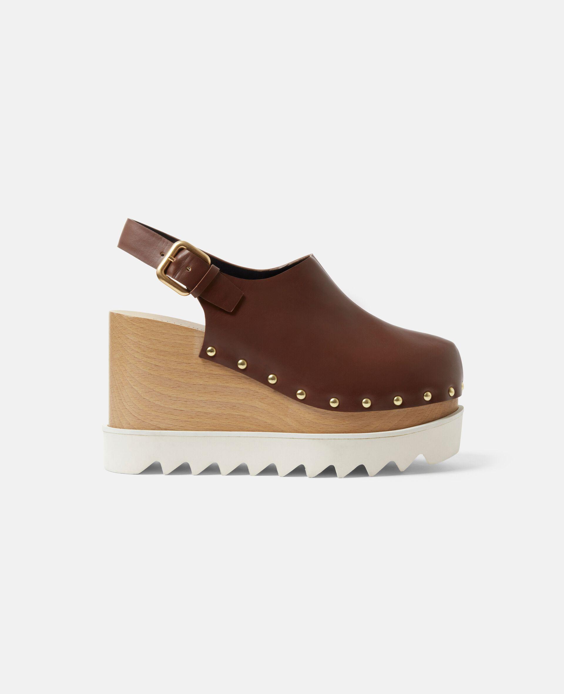 Elyse Stud Hardware Sandals-Brown-large image number 0