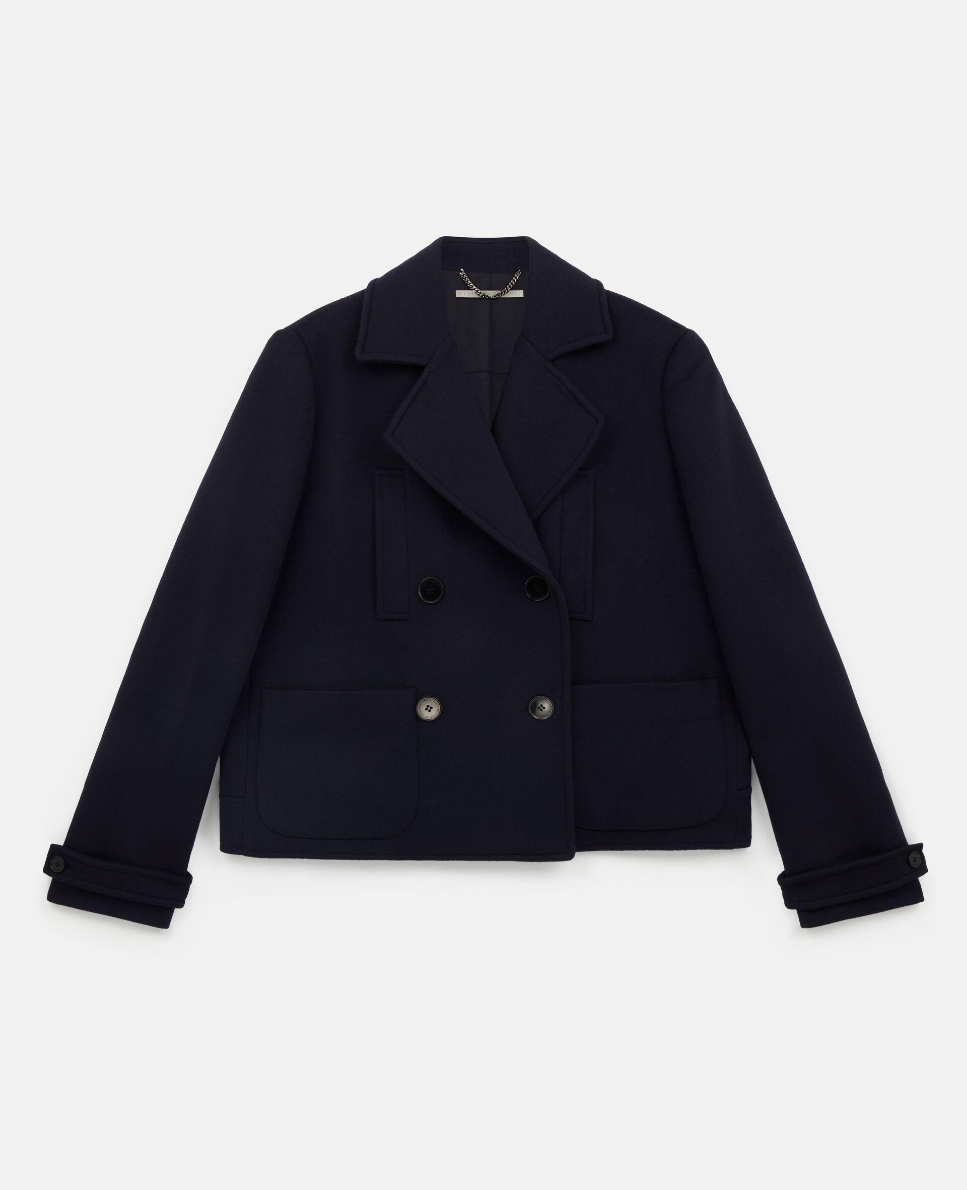 Manteau en laine Rebecca-Bleu-large image number 0