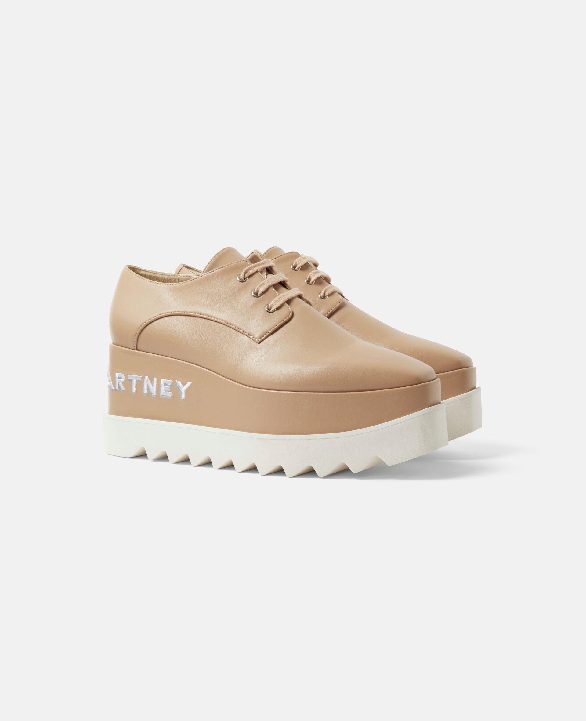 Chaussures compensées Elyse-Beige-large image number 1