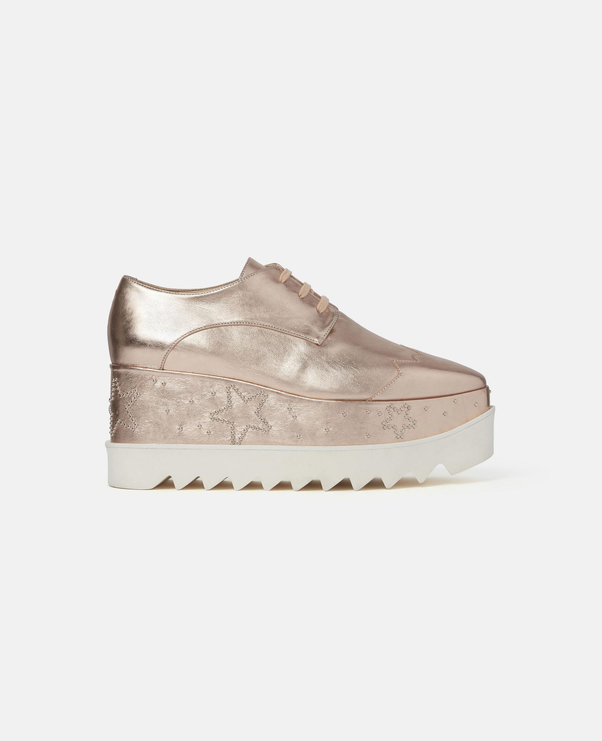 Chaussures compensées pailletées Elyse-Gris-large image number 0