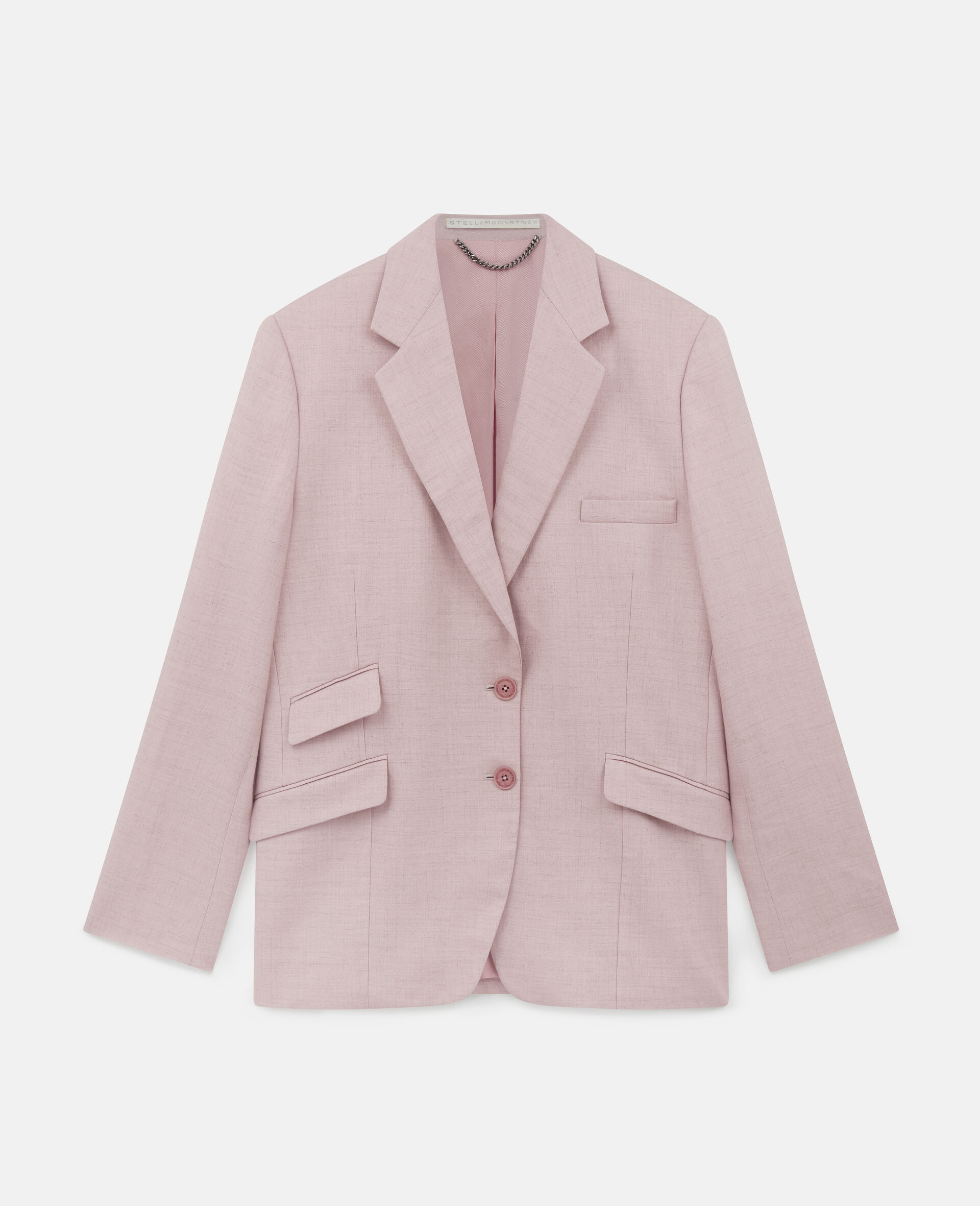 Abby Tailored Jacket-Pink-large image number 0