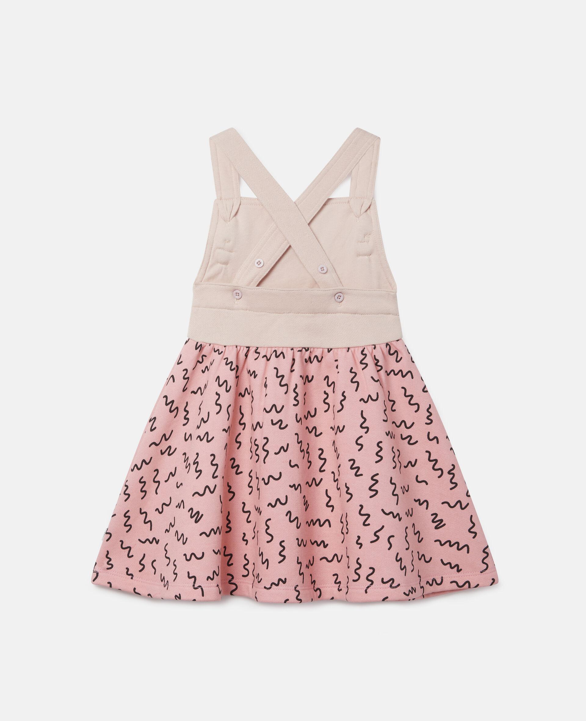 Doodle Poodle Fleece Dress-Pink-large image number 3