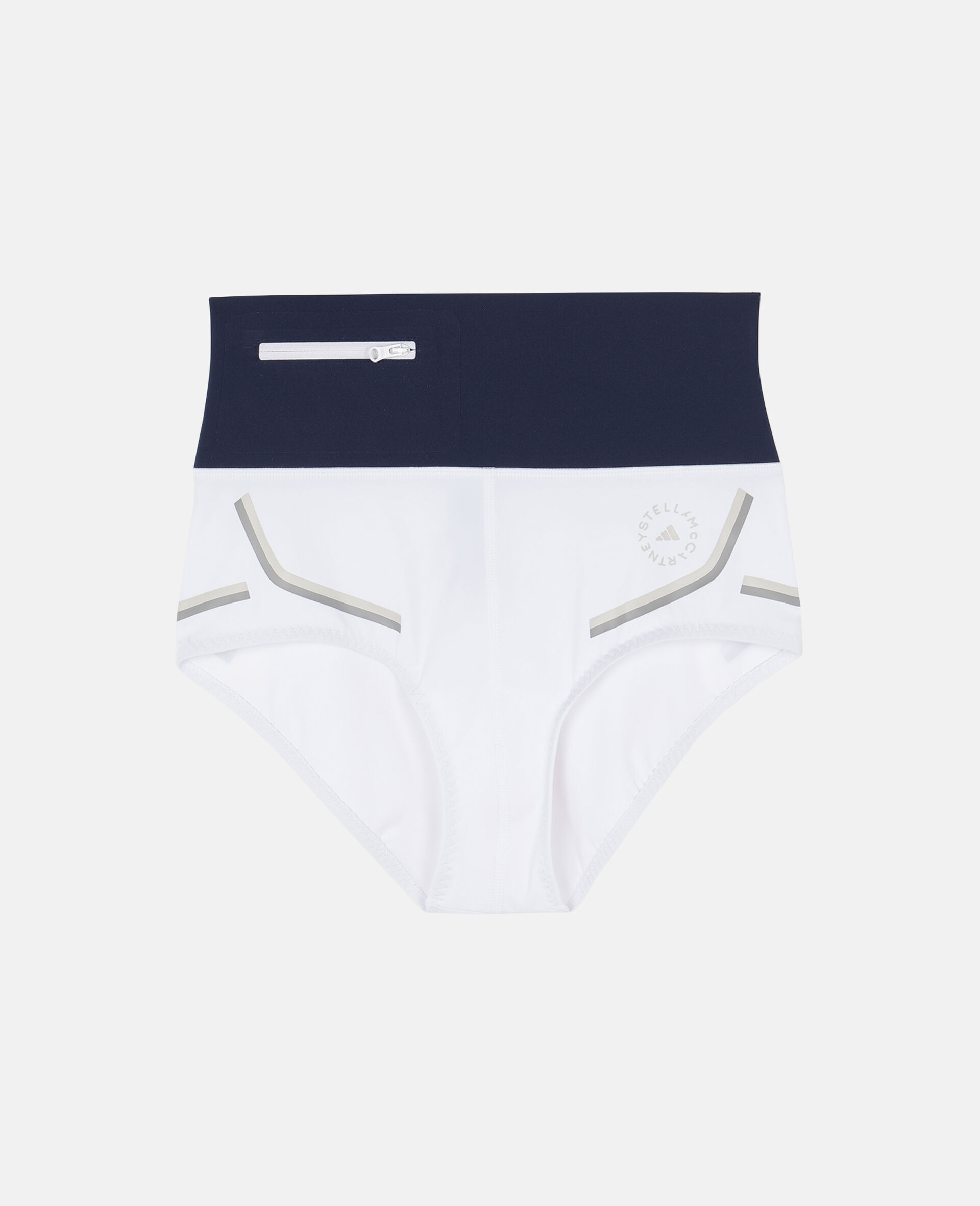 白色 Beach Defender 比基尼短裤-白色-large image number 0
