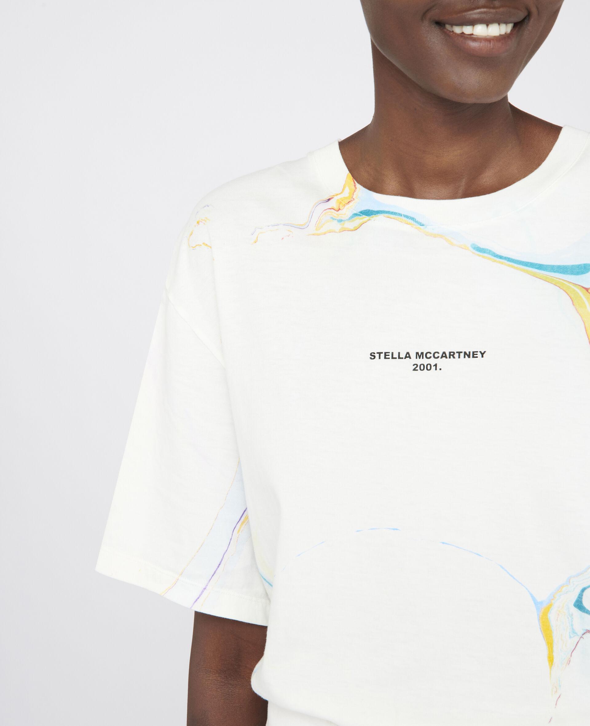 T-Shirt Stella McCartney 2001.-Bianco-large image number 3