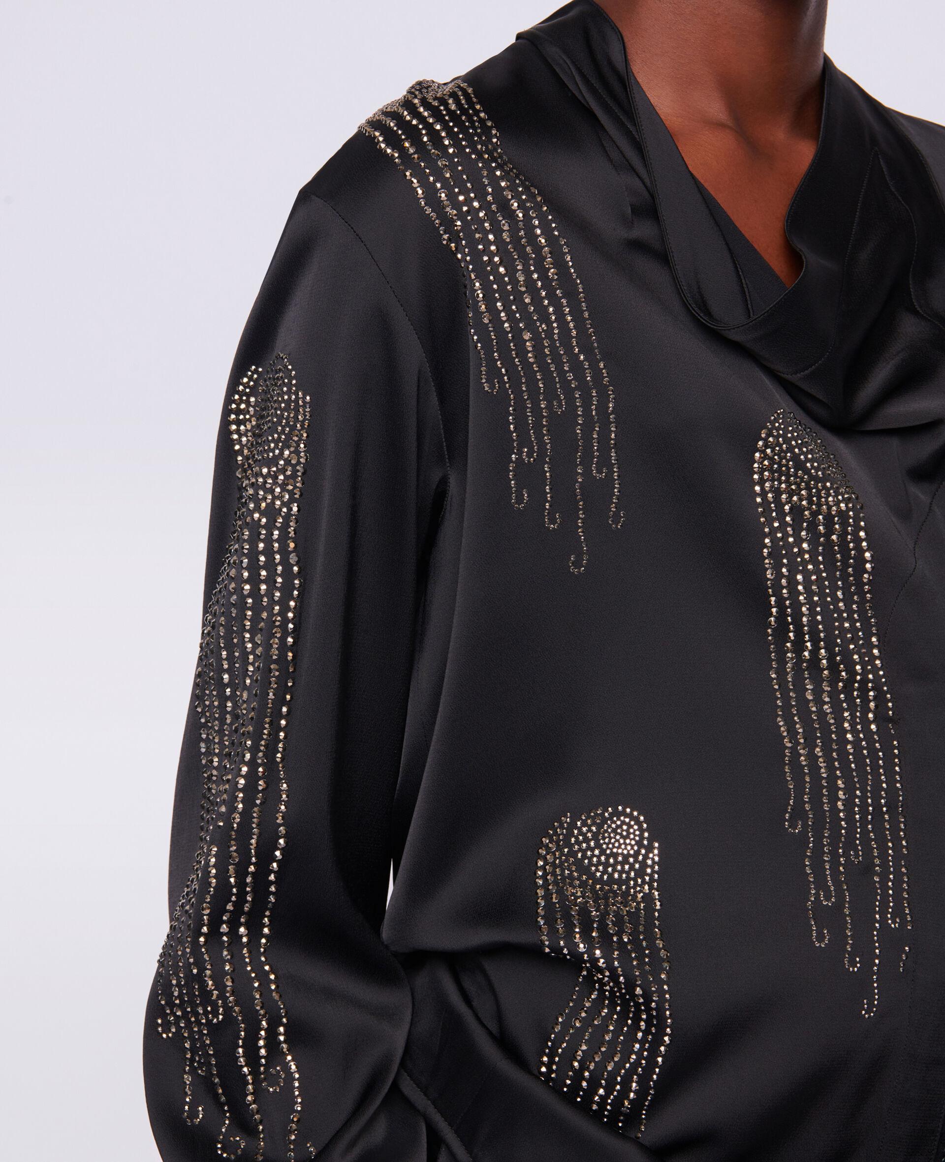 Ambella Hotfix Shirt-Black-large image number 3