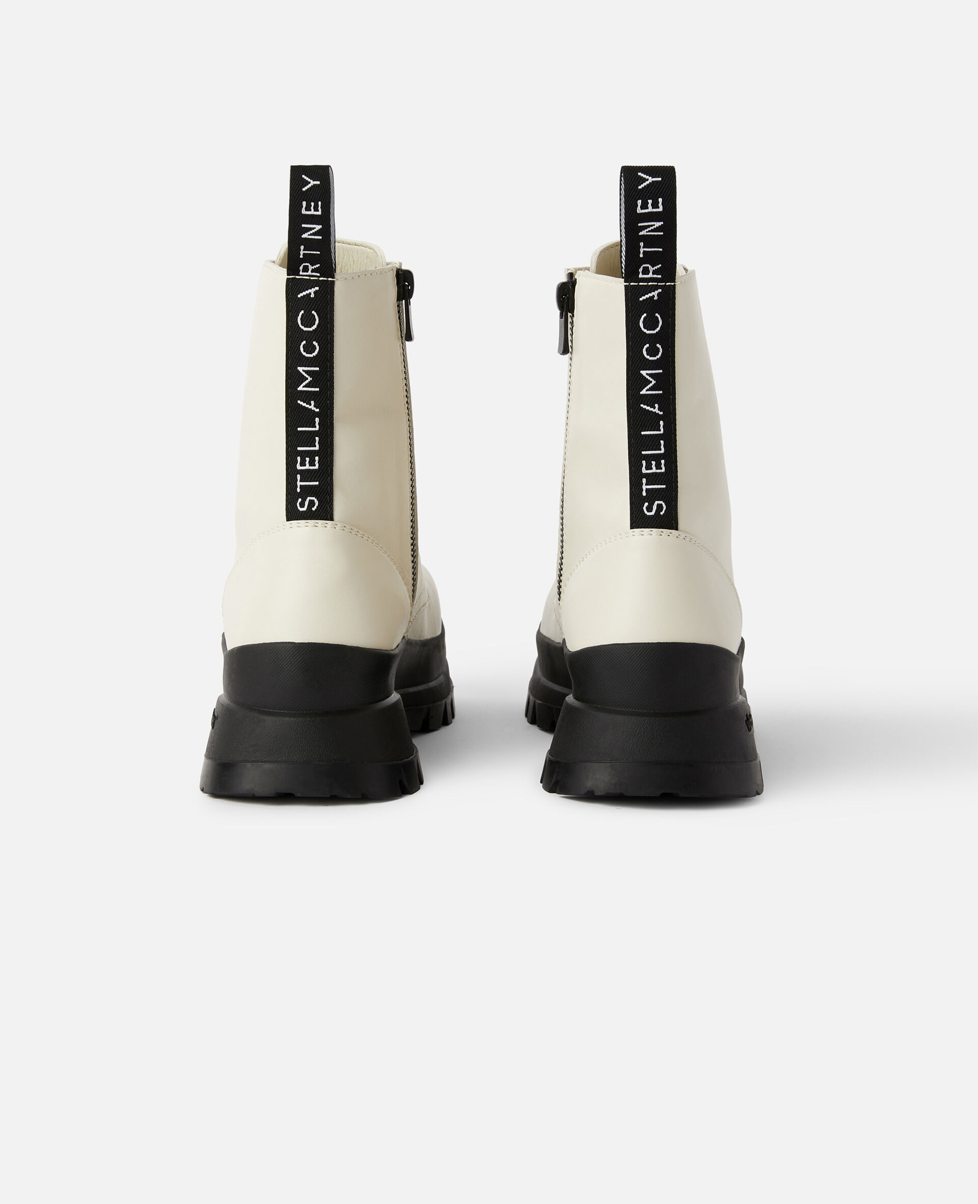 Trace Logo Boots-White-large image number 2