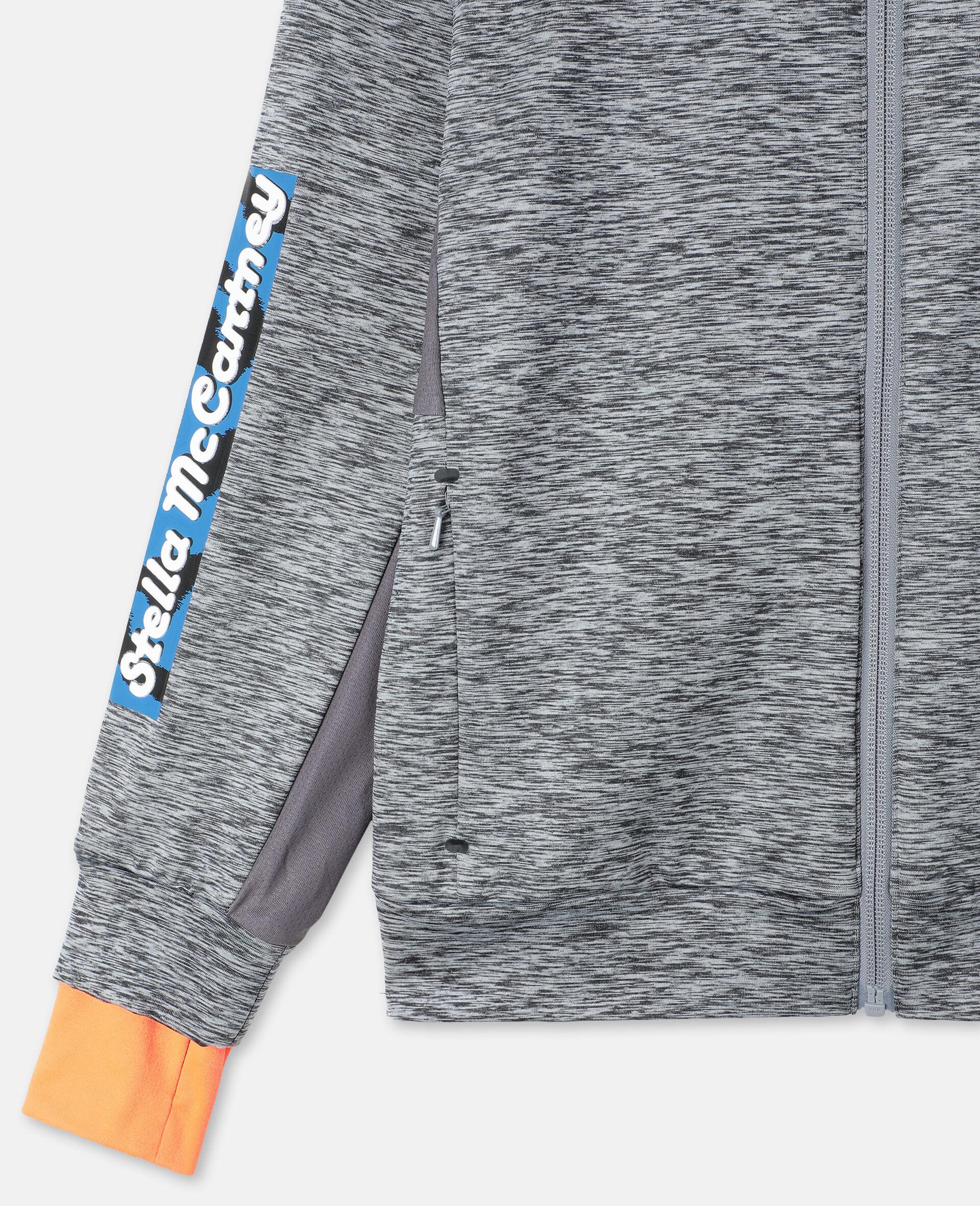Space Dye Active Hoodie-Grey-large image number 2