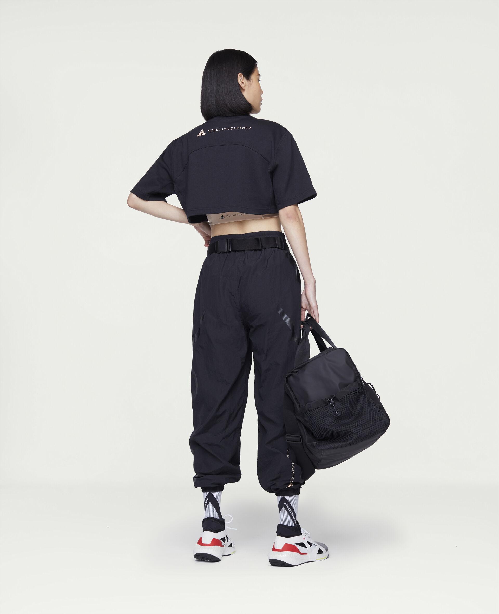 黑色训练短 T 恤-黑色-large image number 2