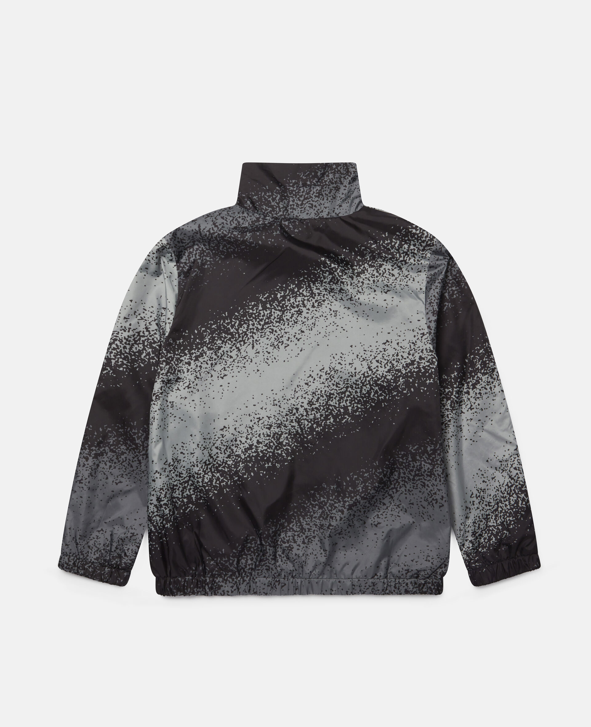 Spray Painted Effect Jacket-Grey-large image number 3