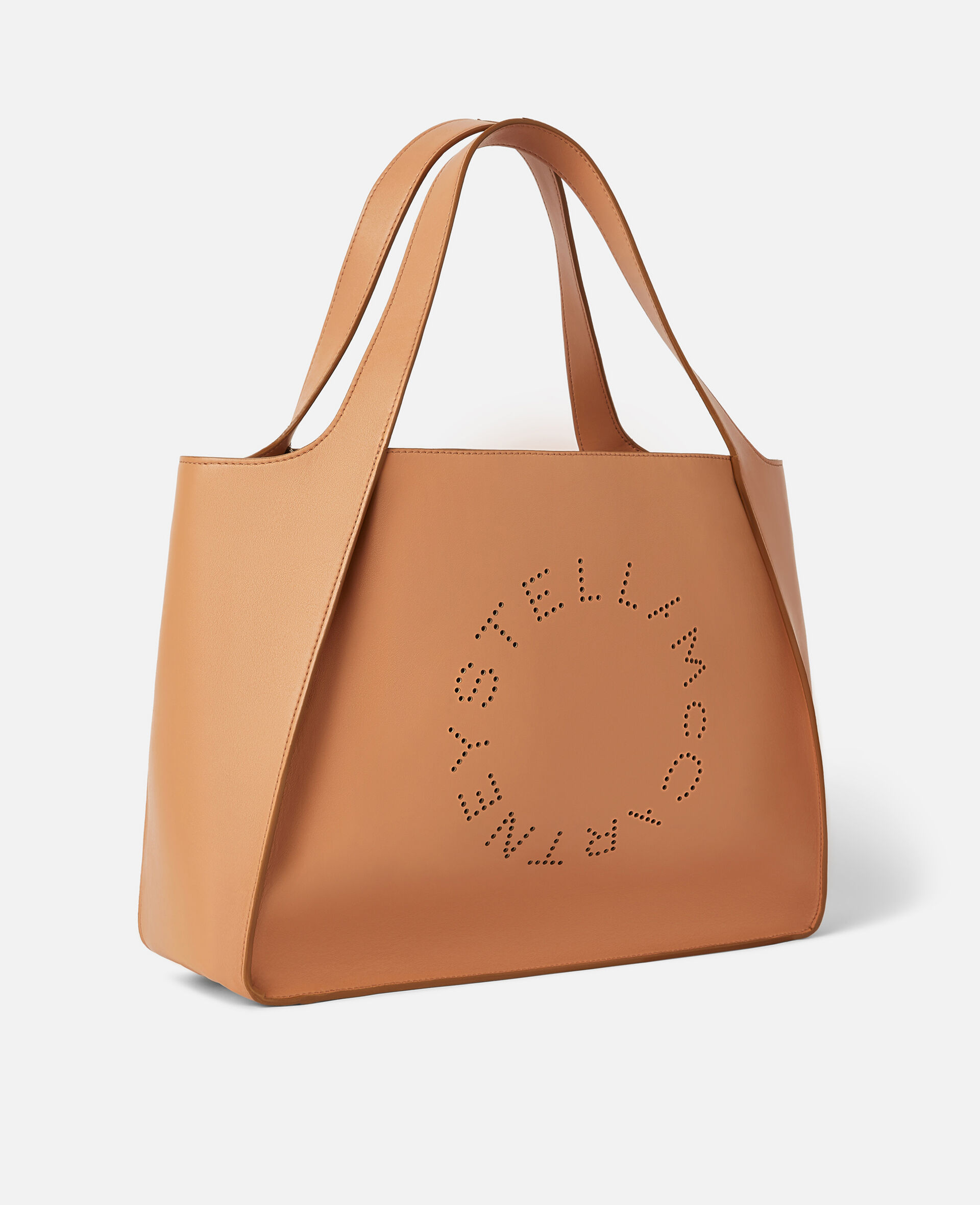 Tote con Logo Stella-Marrone-large image number 1