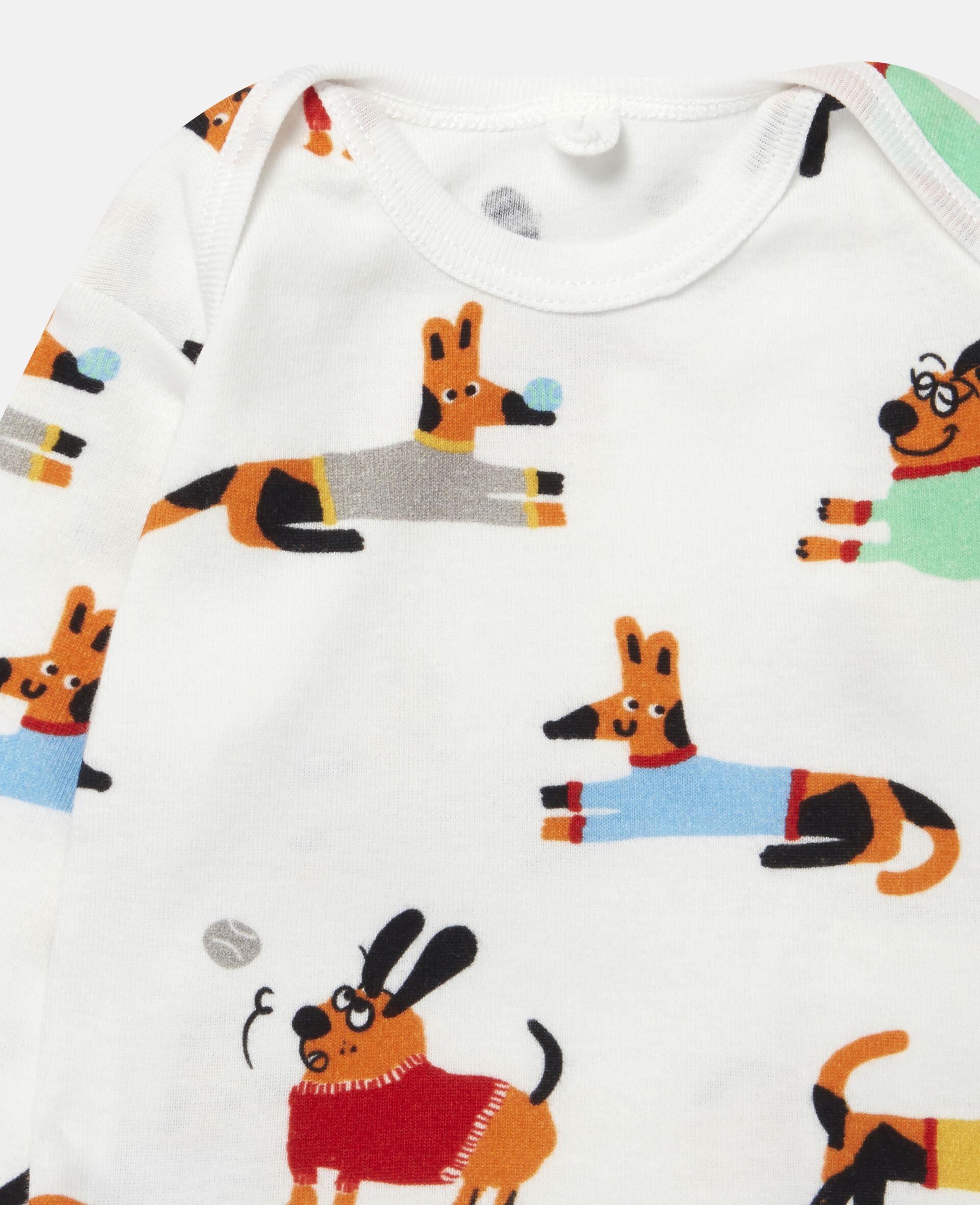 Baby Doggies Jersey Rib Tracksuit-White-large image number 1