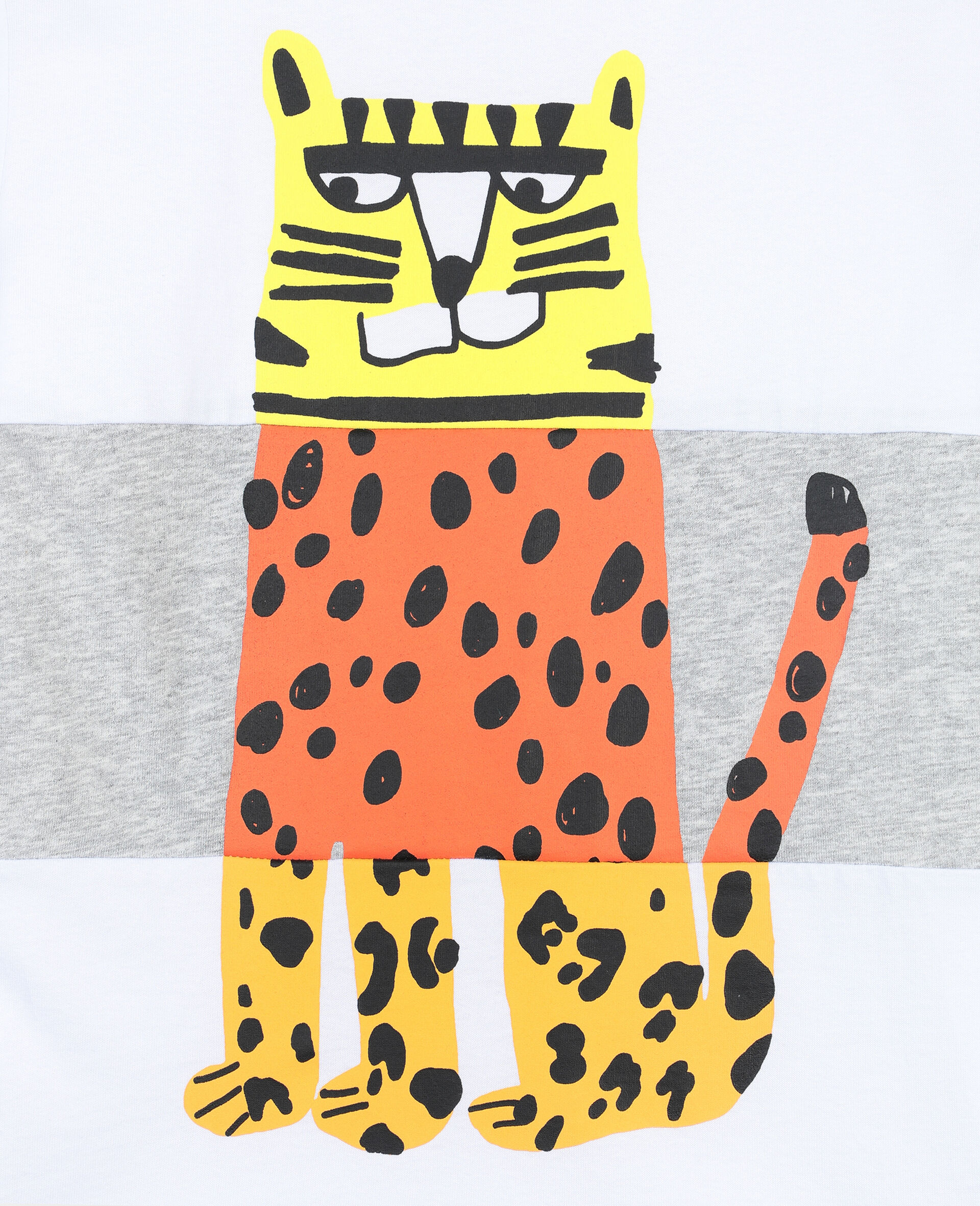 Tiger 棉质 T 恤 -白色-large image number 1