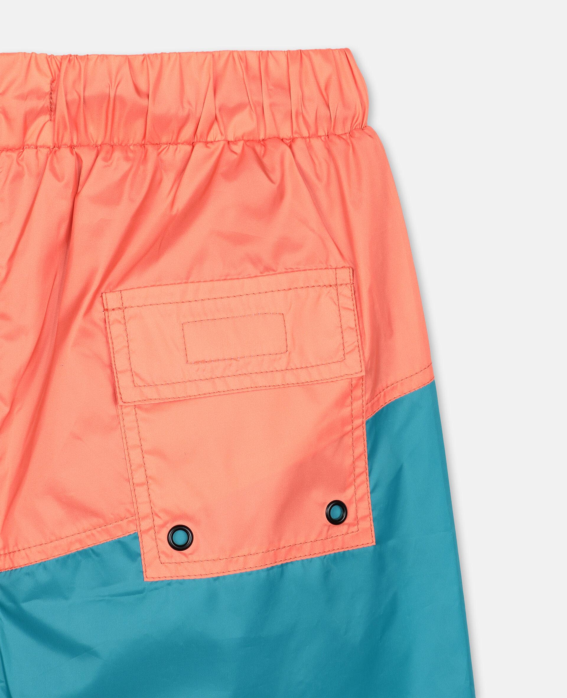 Logo Sport Swim Shorts -Orange-large image number 2