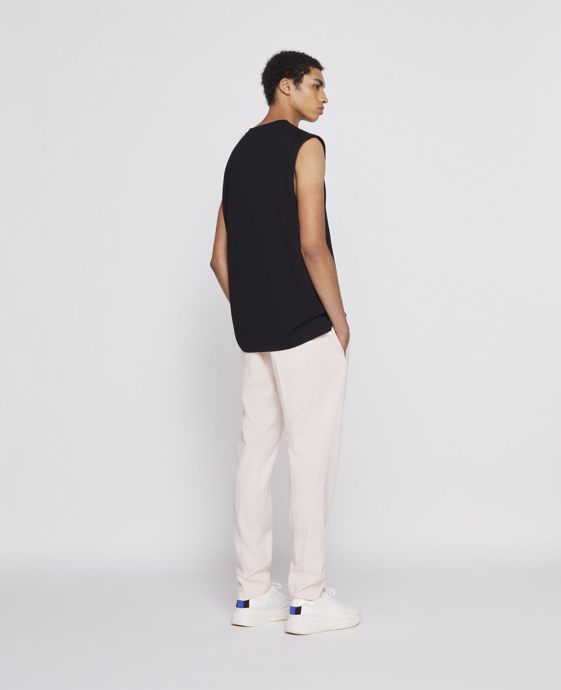 23 OBS 无袖 T 恤-黑色-large image number 2