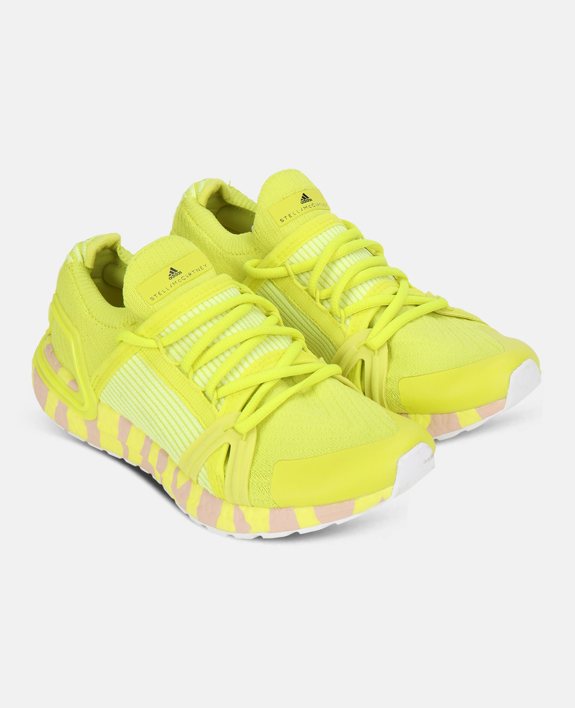 Yellow Ultraboost 20 Sneakers  -Yellow-large image number 1