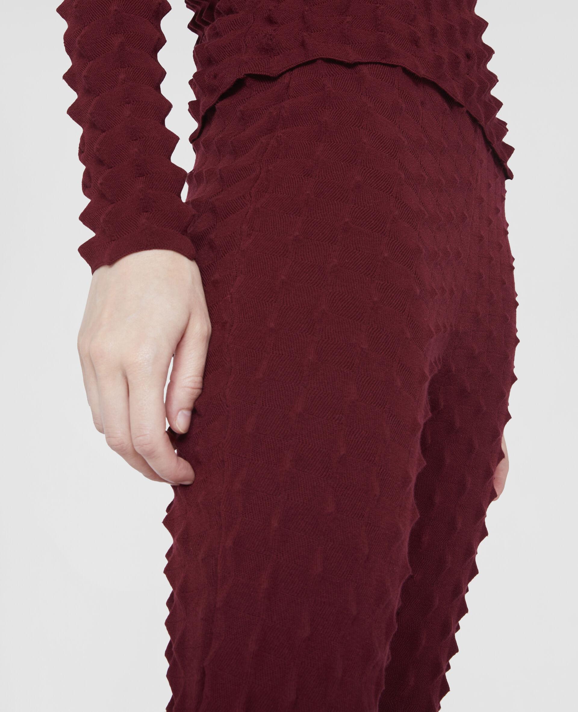 Pantaloni Light Popcorn-Rosso-large image number 3