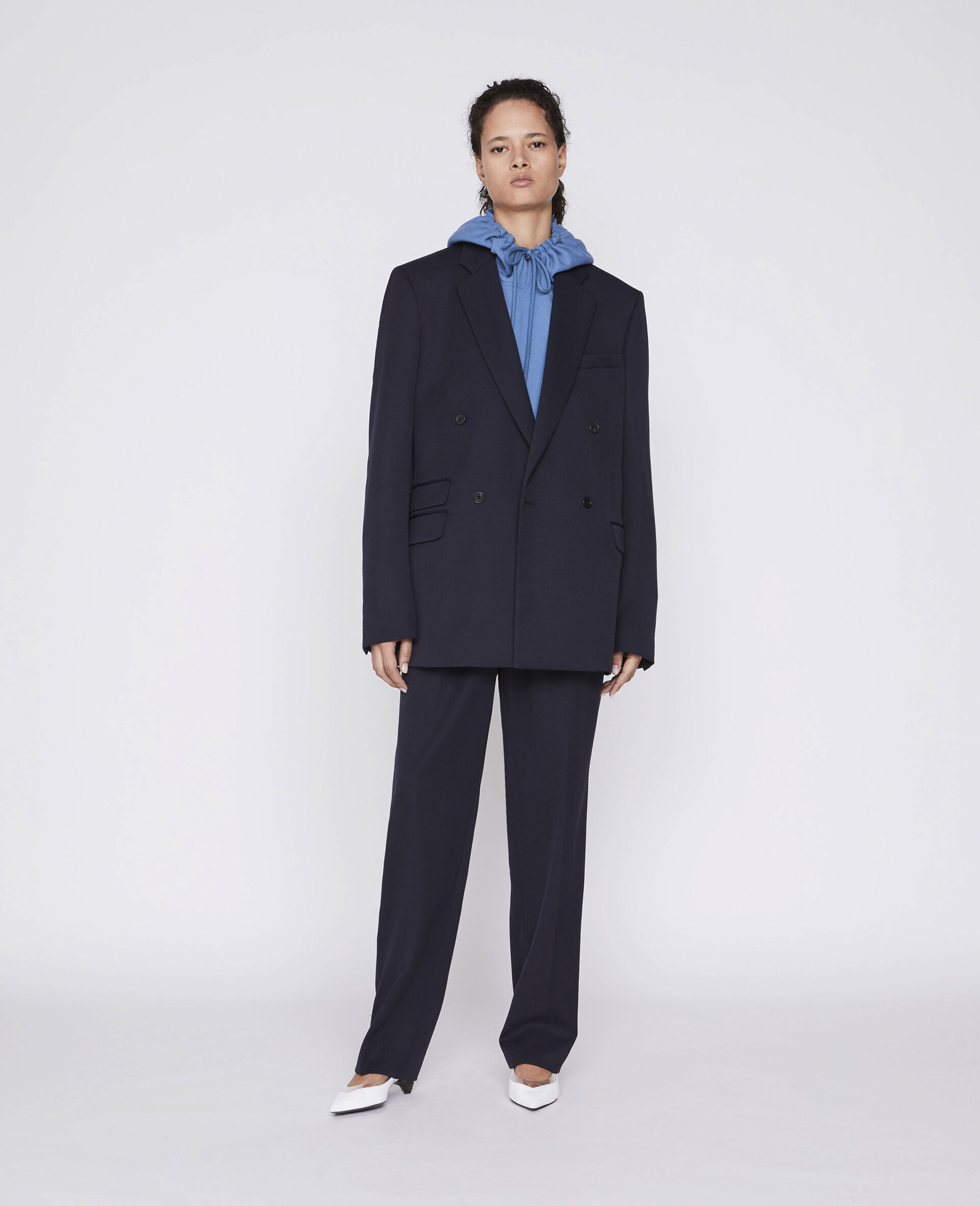 Julien Tailored Trousers-Blue-large image number 1