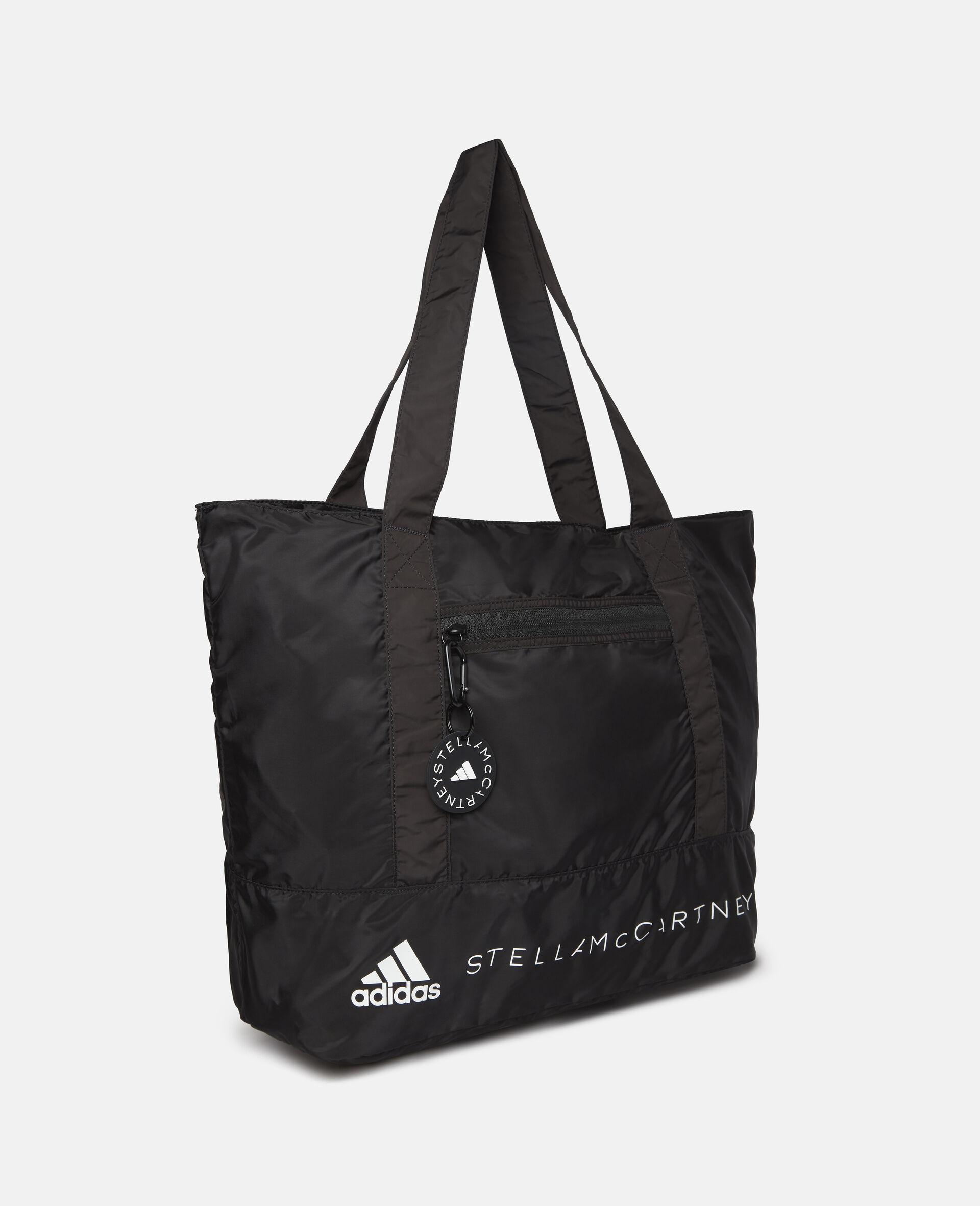 Black Tote Bag-Black-large image number 3
