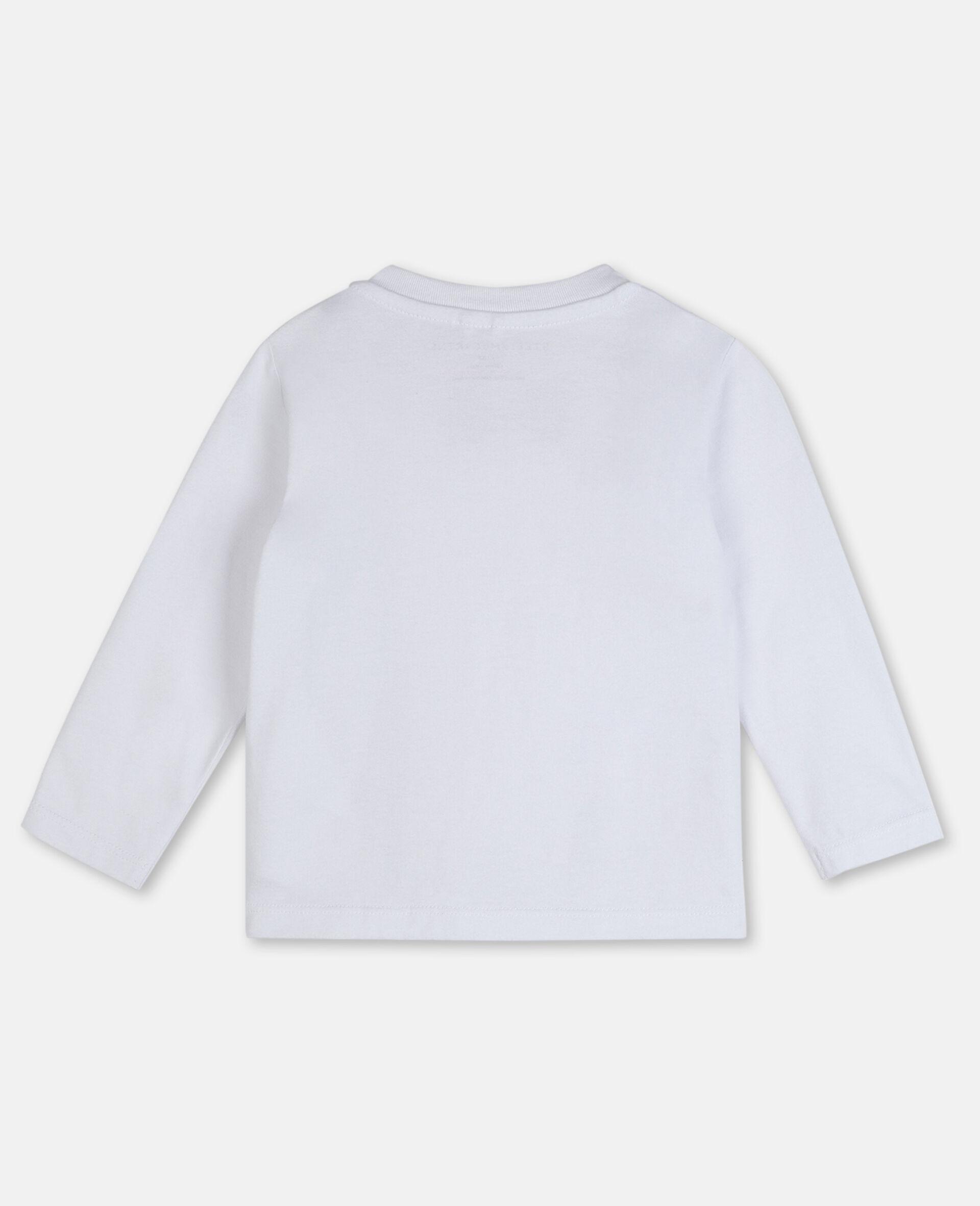 Braces Cotton T-shirt -White-large image number 3