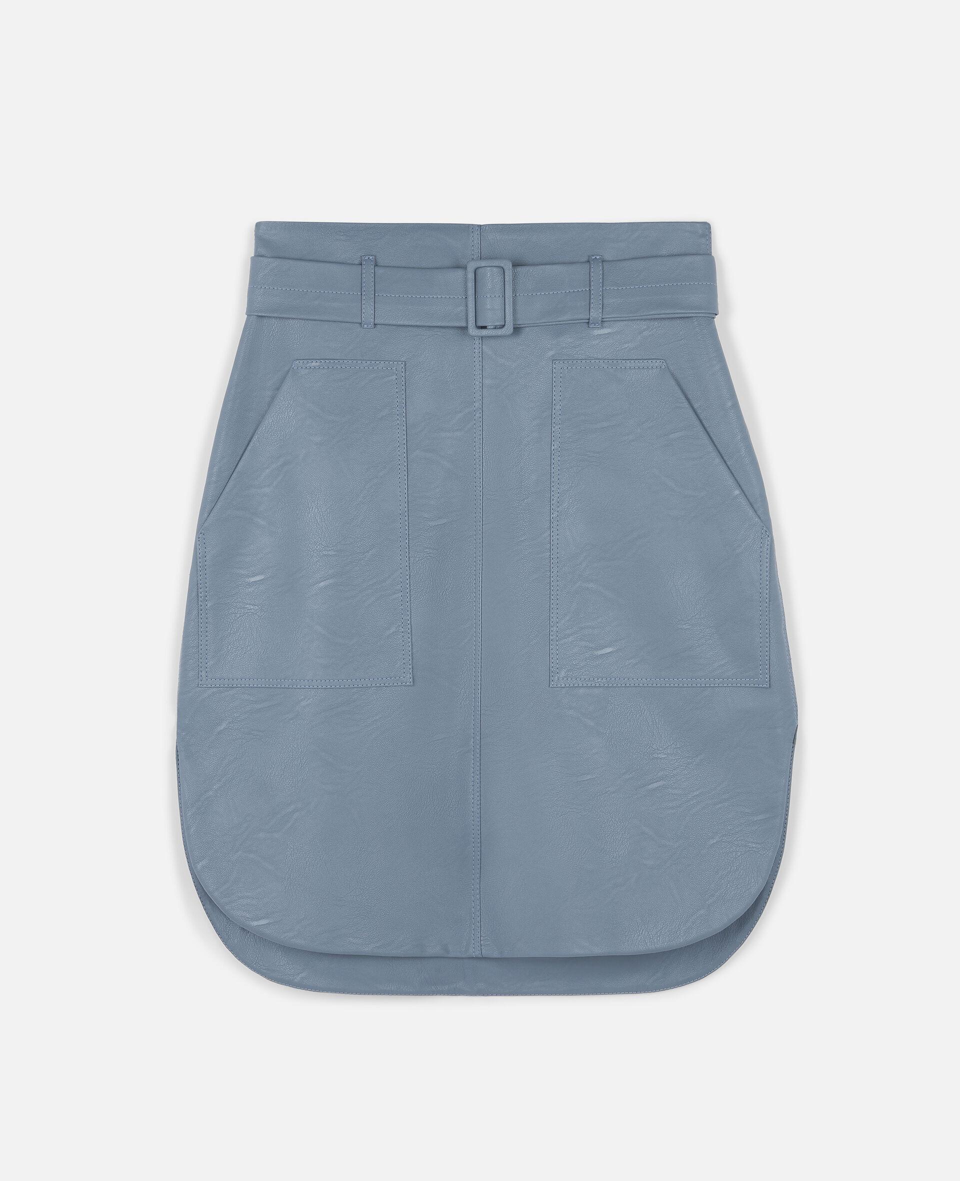 Ivy Midi Skirt -Blue-large image number 0