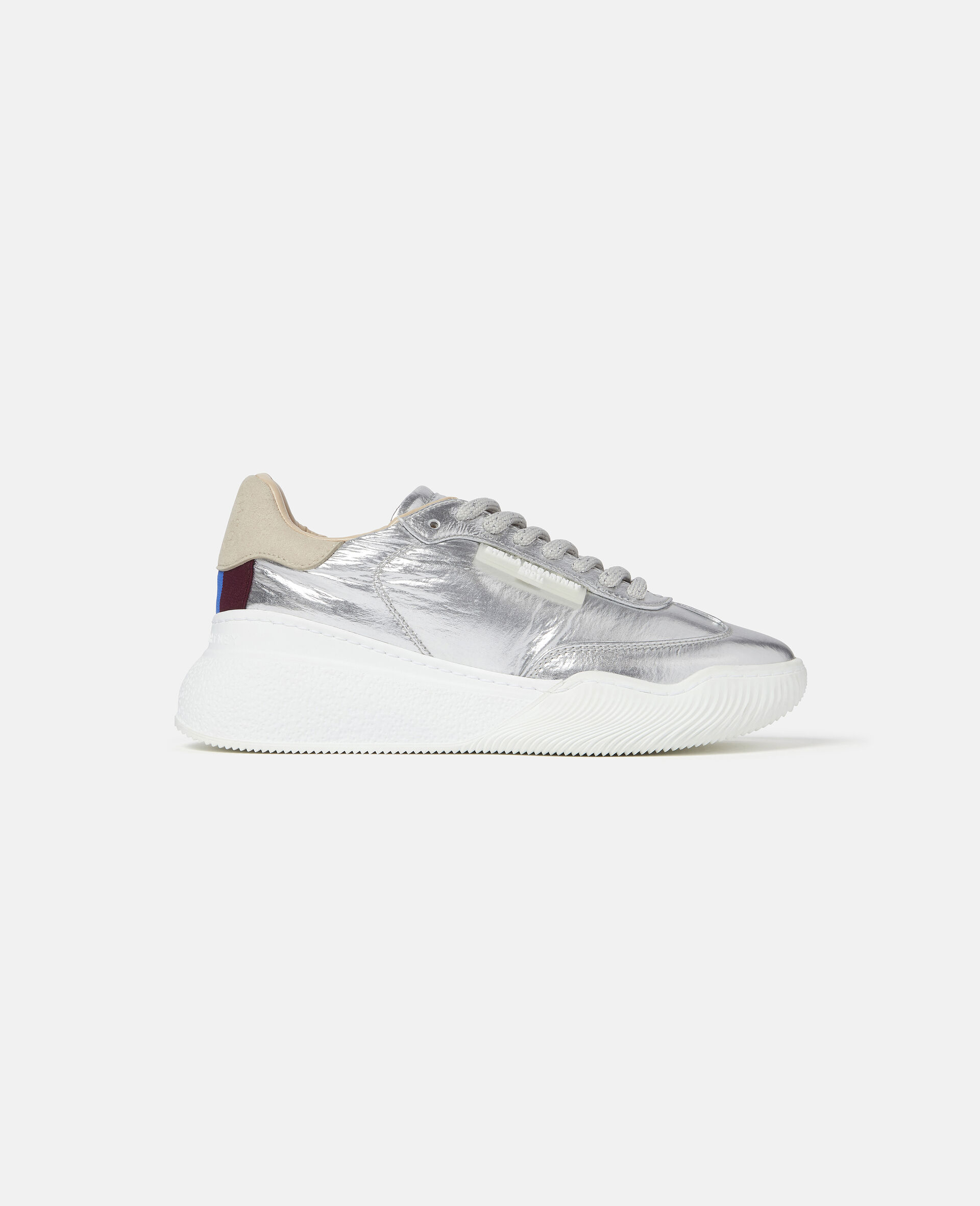 Loop Lace-up Sneakers-Grey-large image number 0