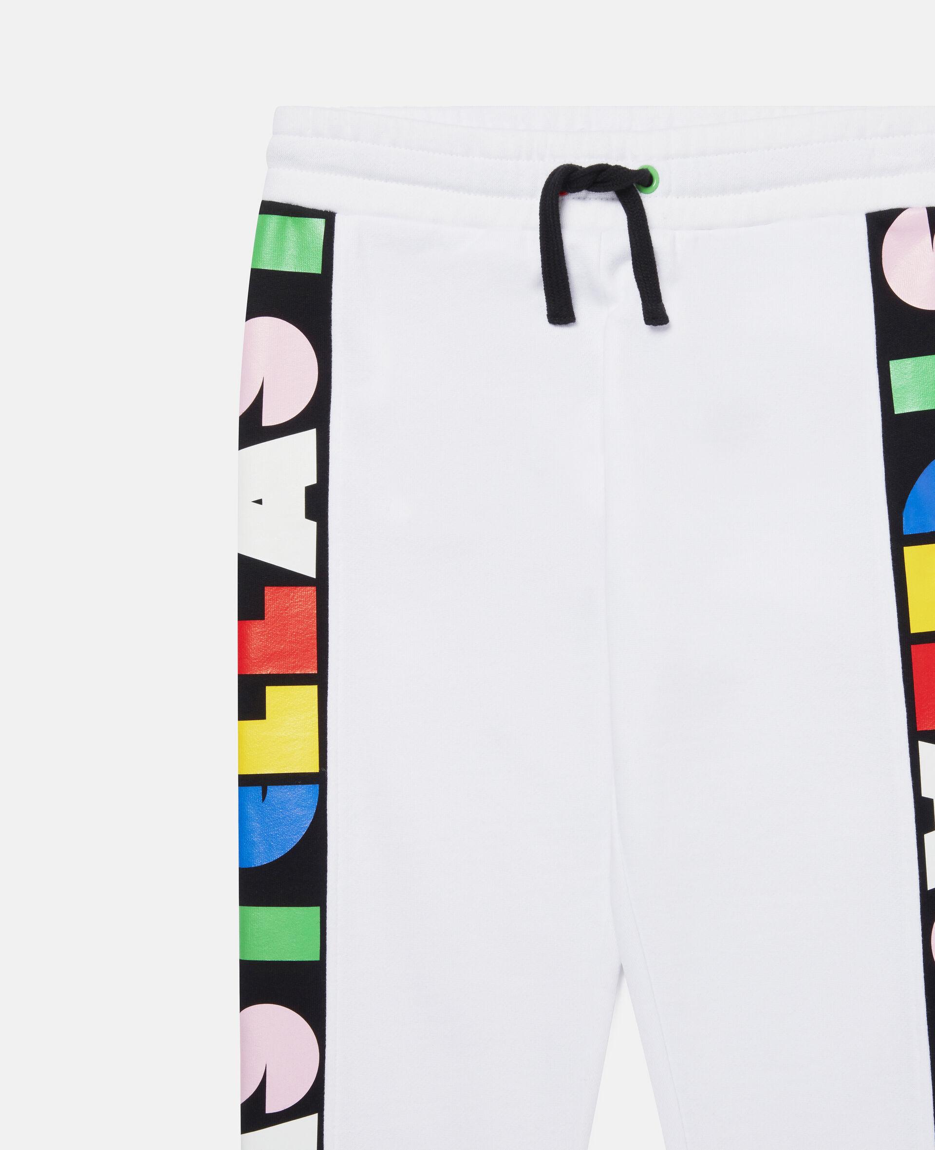 Pantalon de jogging en polaire Stella-Blanc-large image number 2