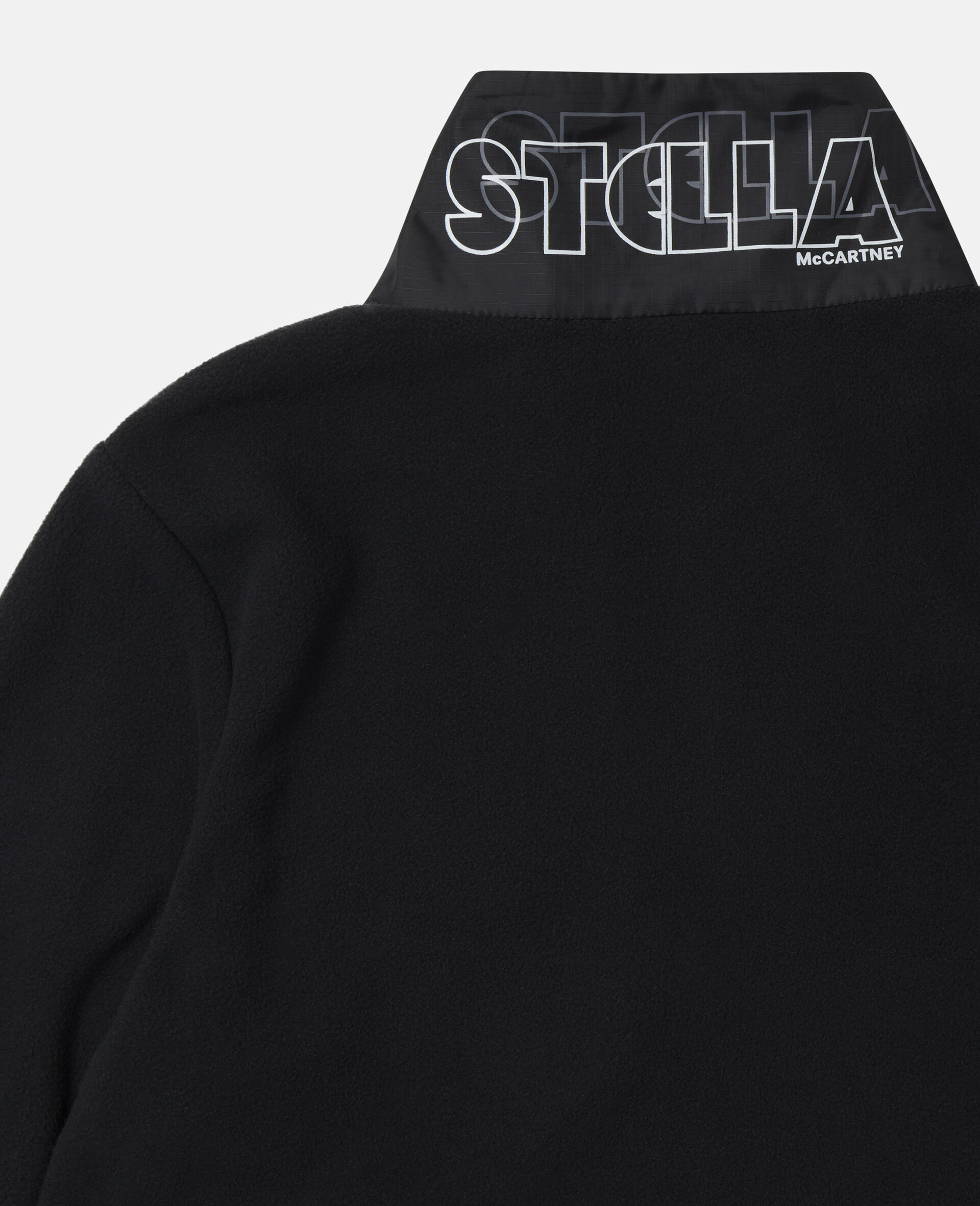 Sweat-shirt en polaire sportif Stella-Noir-large image number 2