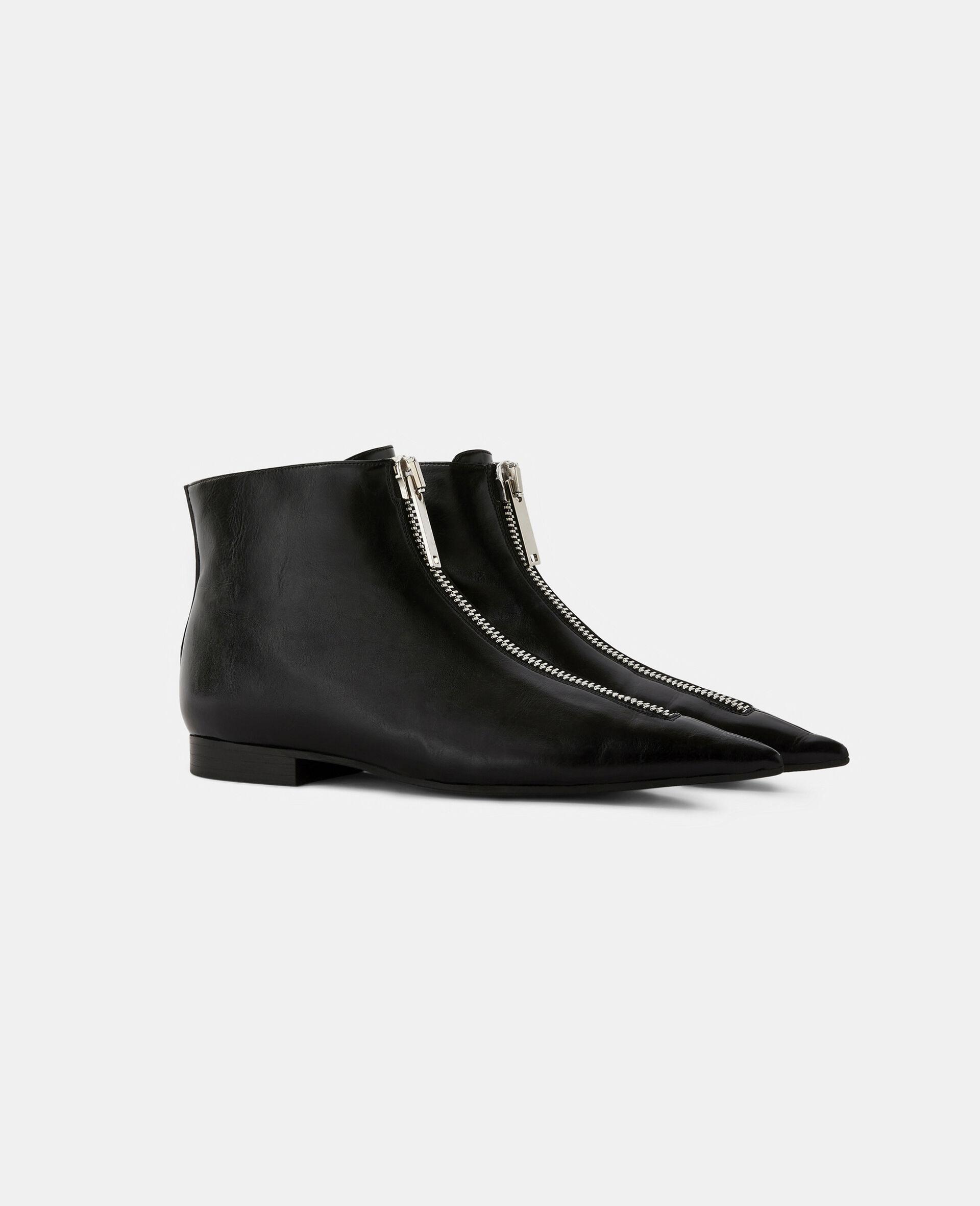 Zipit Ankle Boots-Black-large image number 1
