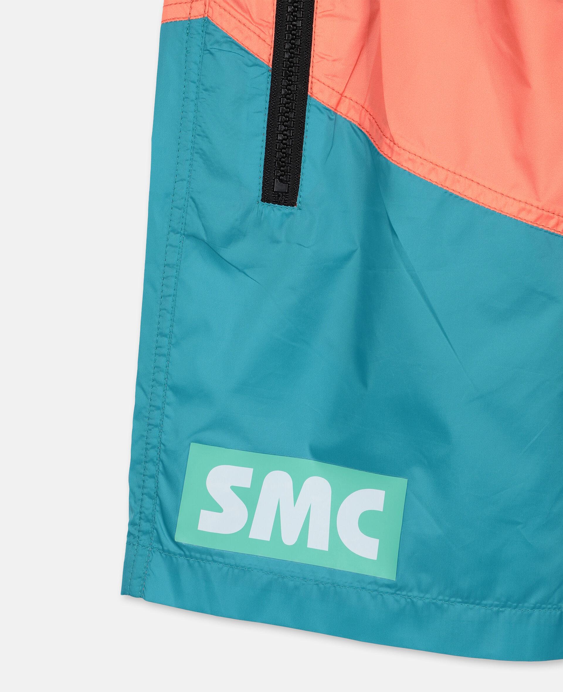 Logo Sport Swim Shorts -Orange-large image number 1