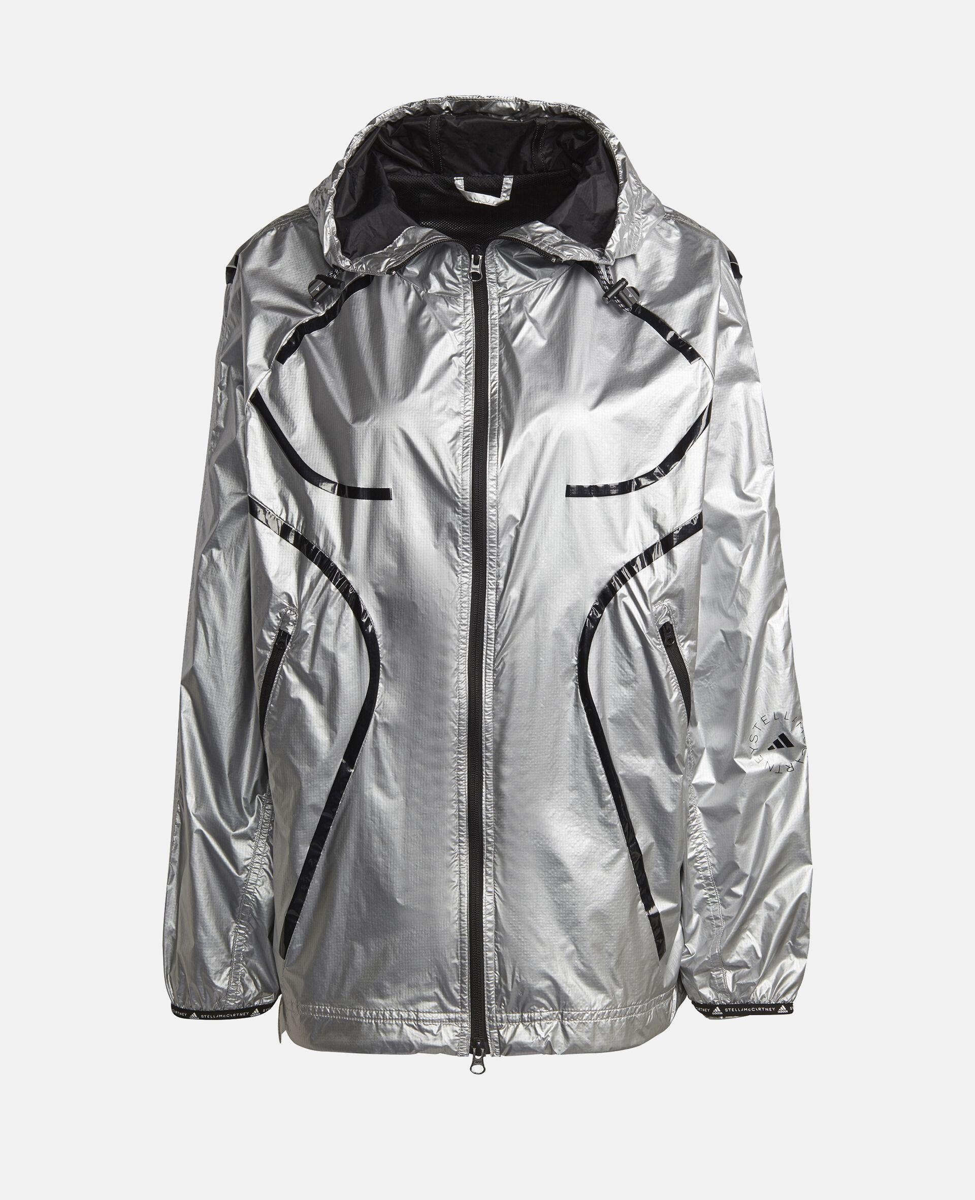 Shine Hooded Training Jacket-Grey-large image number 0