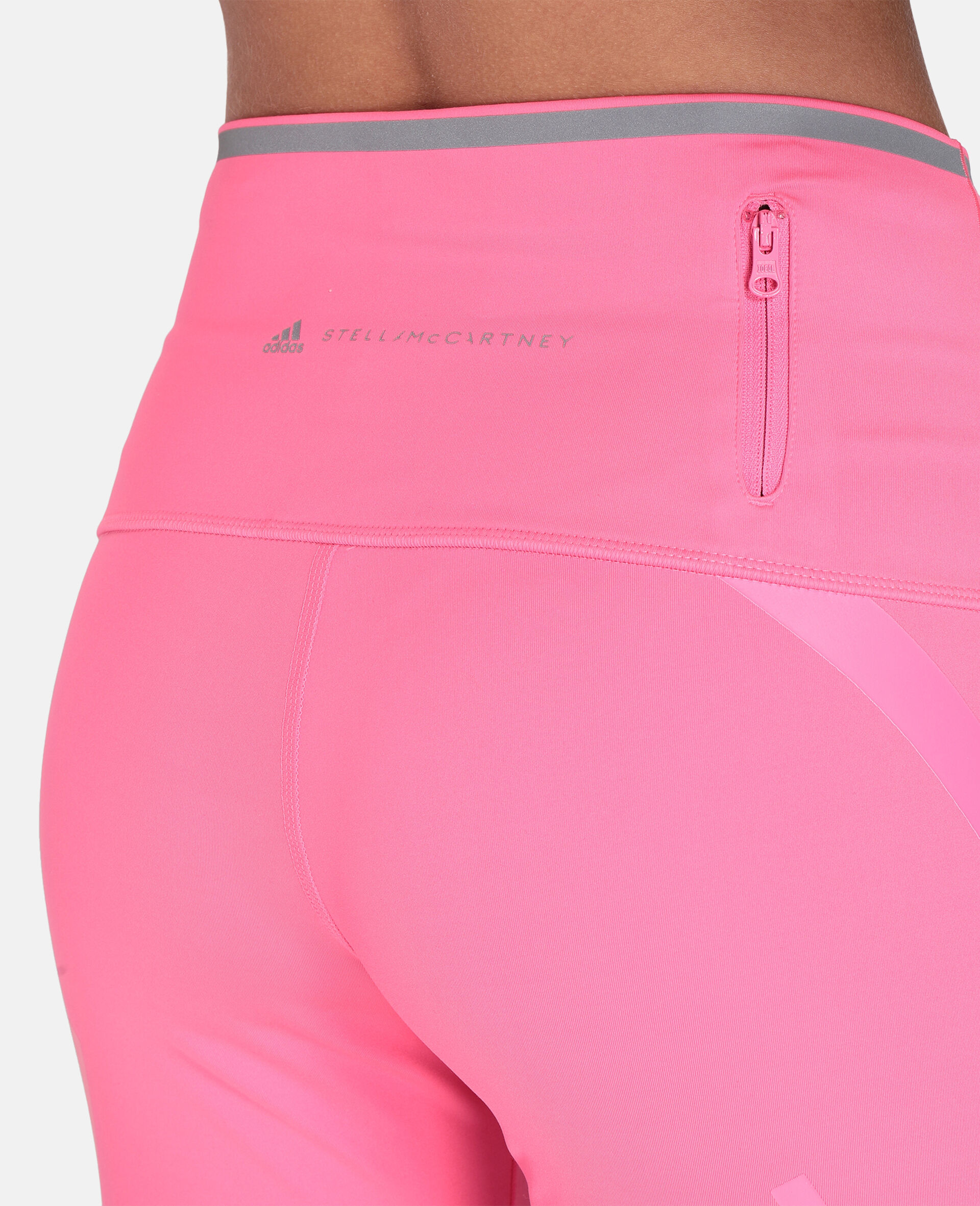 TruePace 3/4 Running Tights-Pink-large image number 3