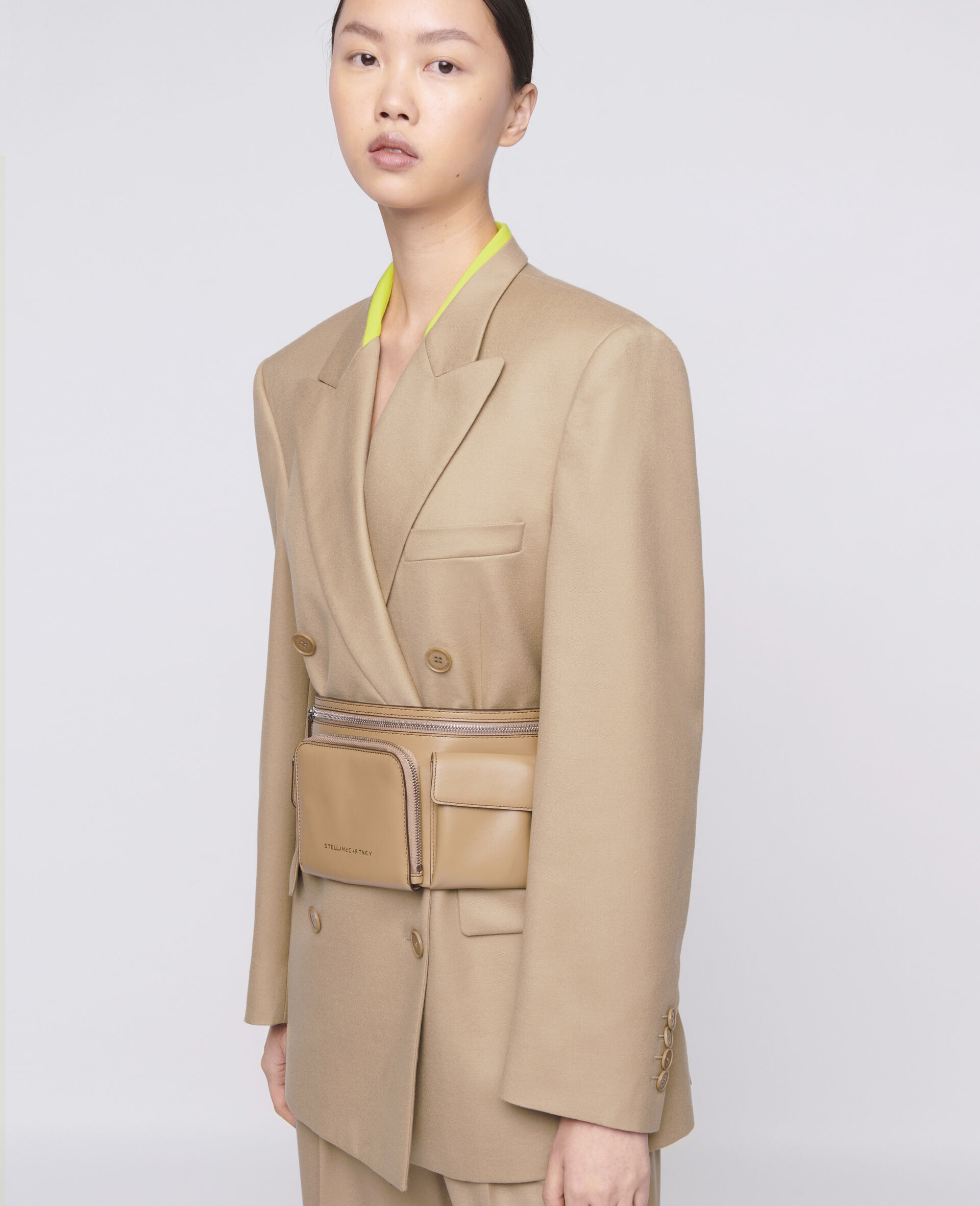 Lola Tailored Jacket-Brown-large image number 3