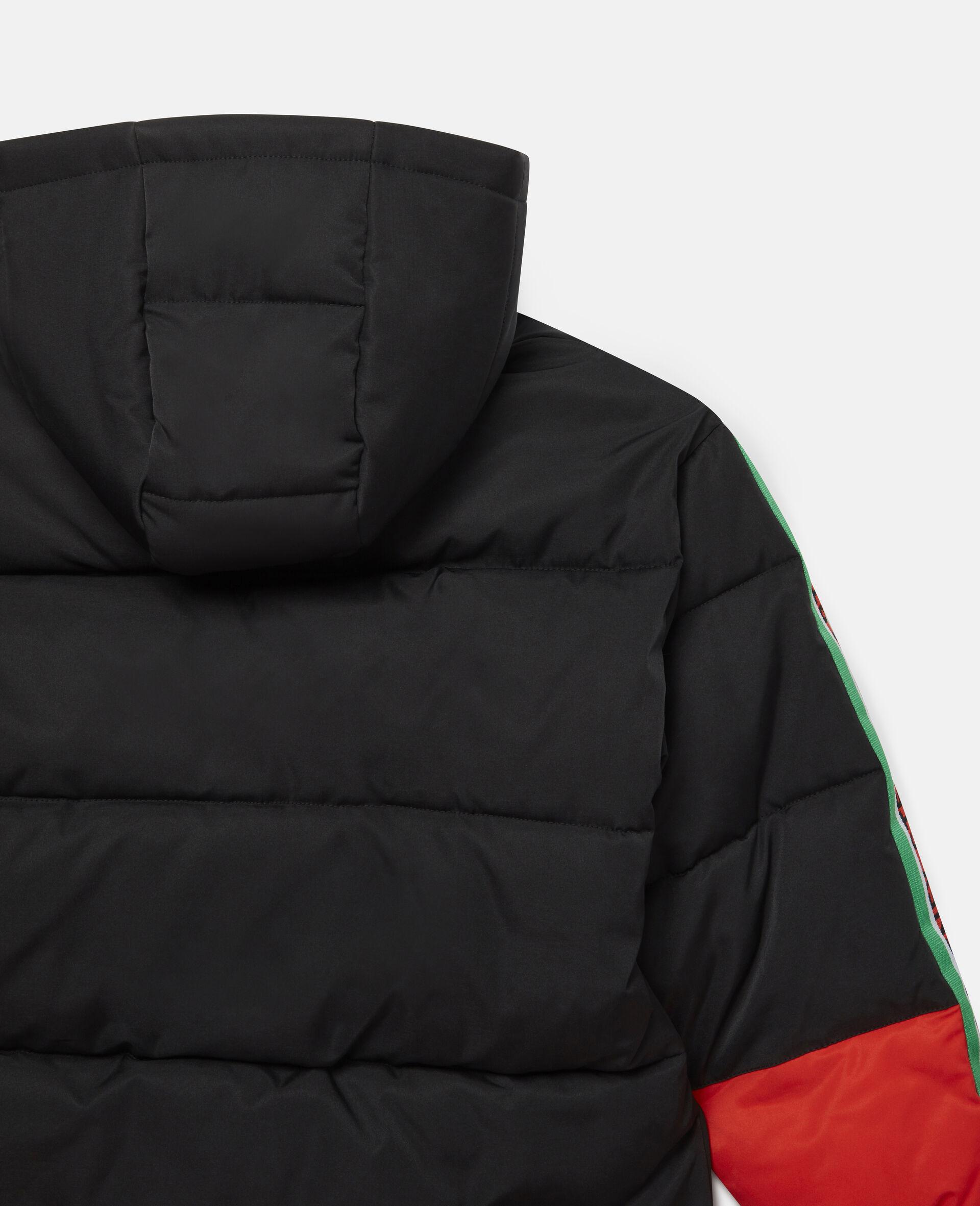 Oversized Logo Puffer Jacket-Multicolour-large image number 2