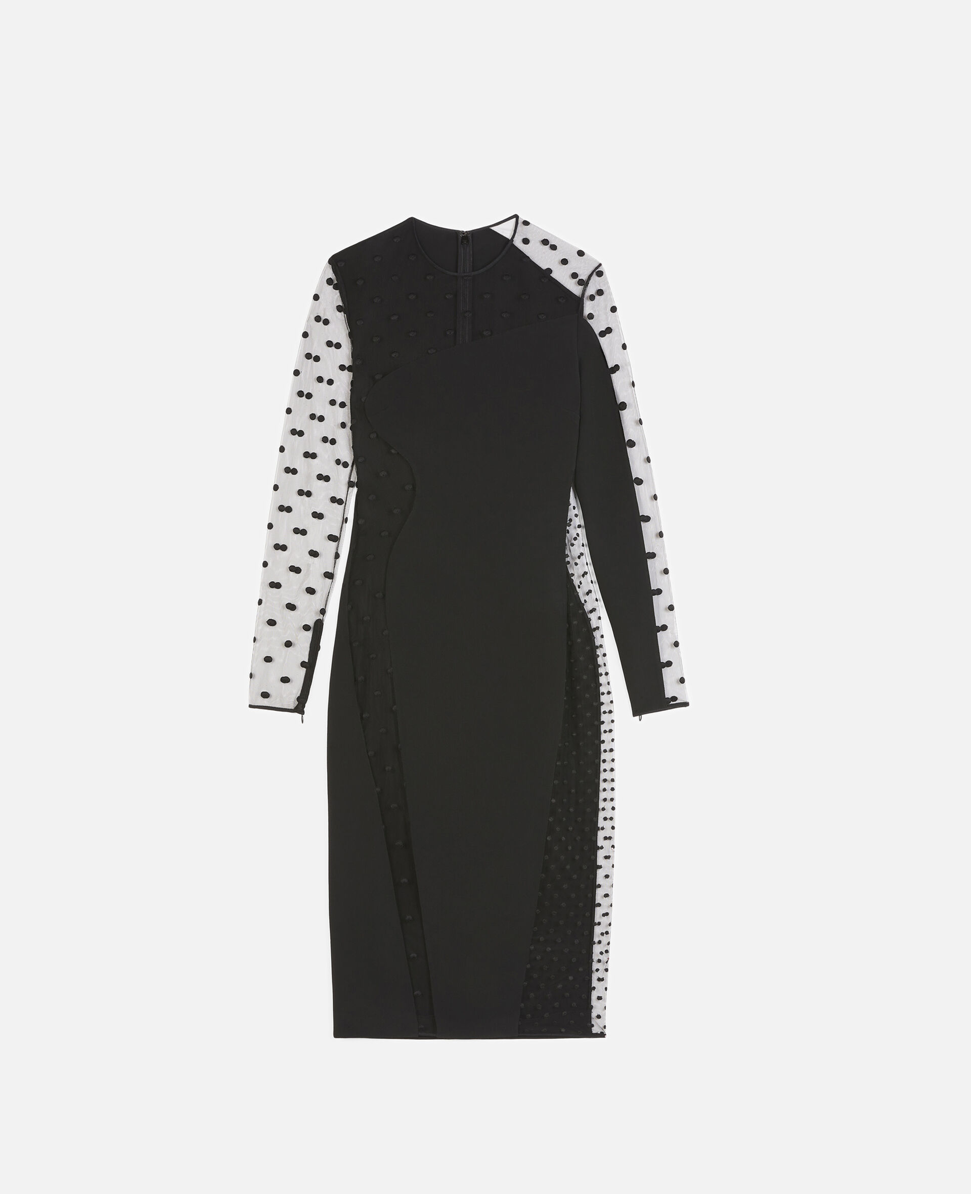 Arielle Evening Dress-Black-large image number 0