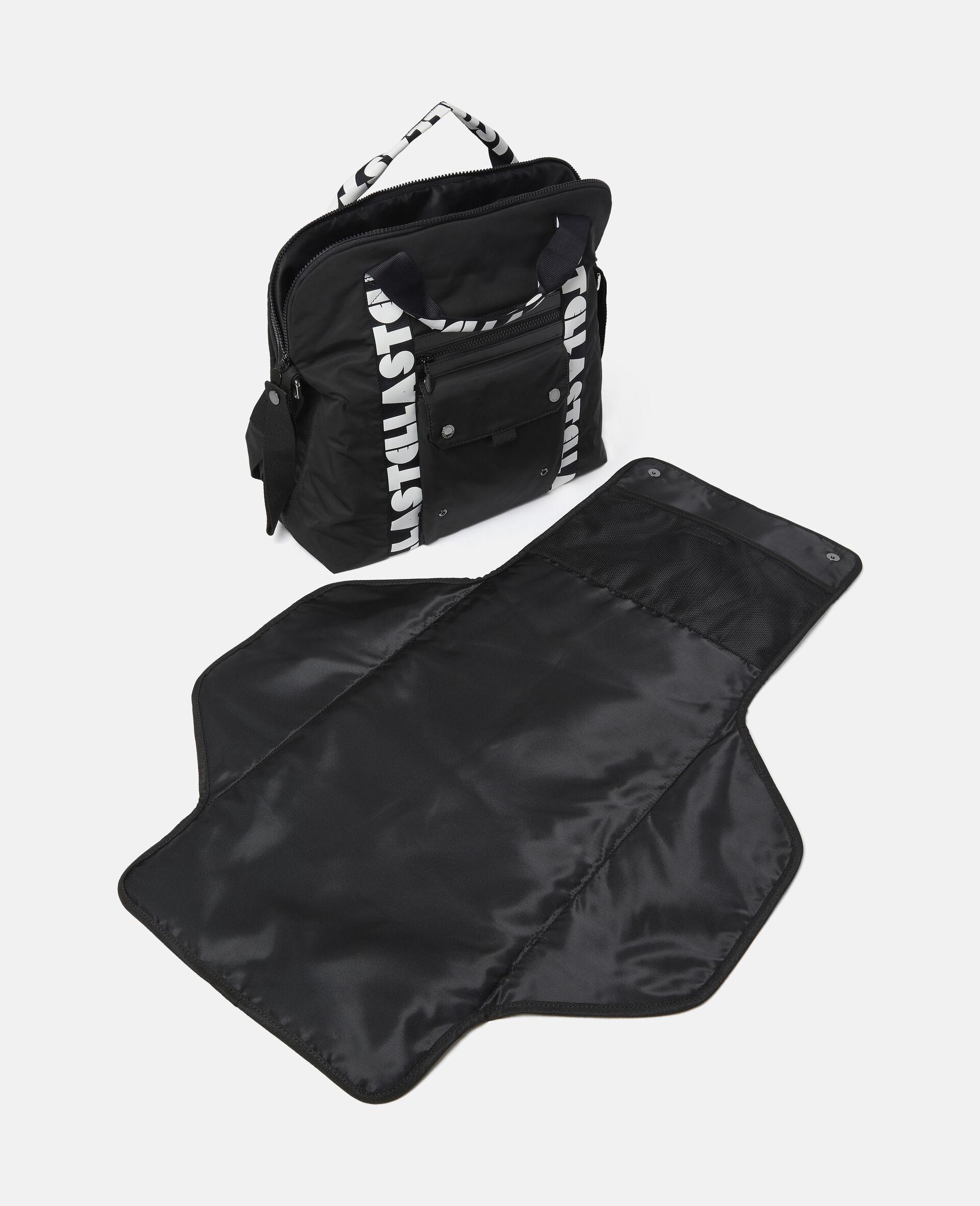 Stella Logo Diaper Bag-Black-large image number 2