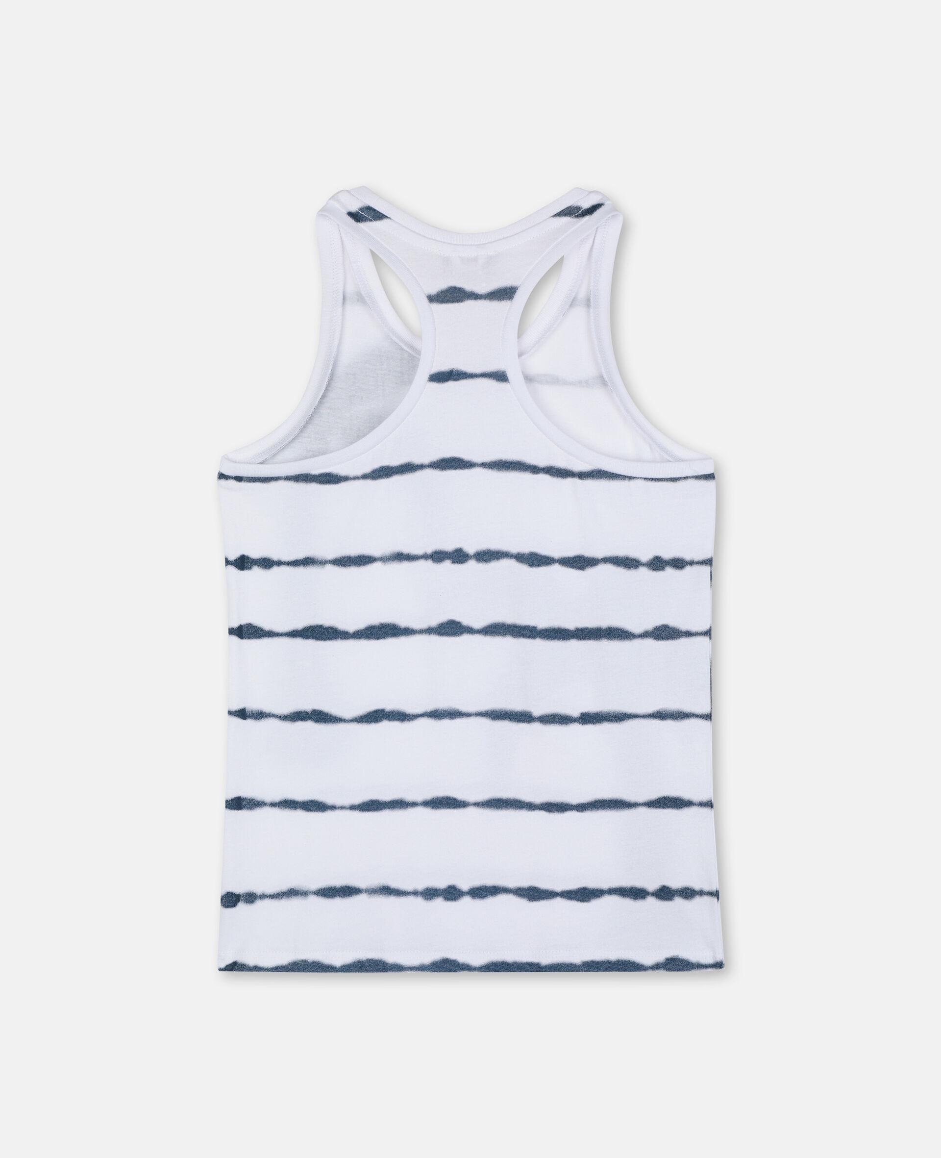 Palm Cotton Vest-White-large image number 3