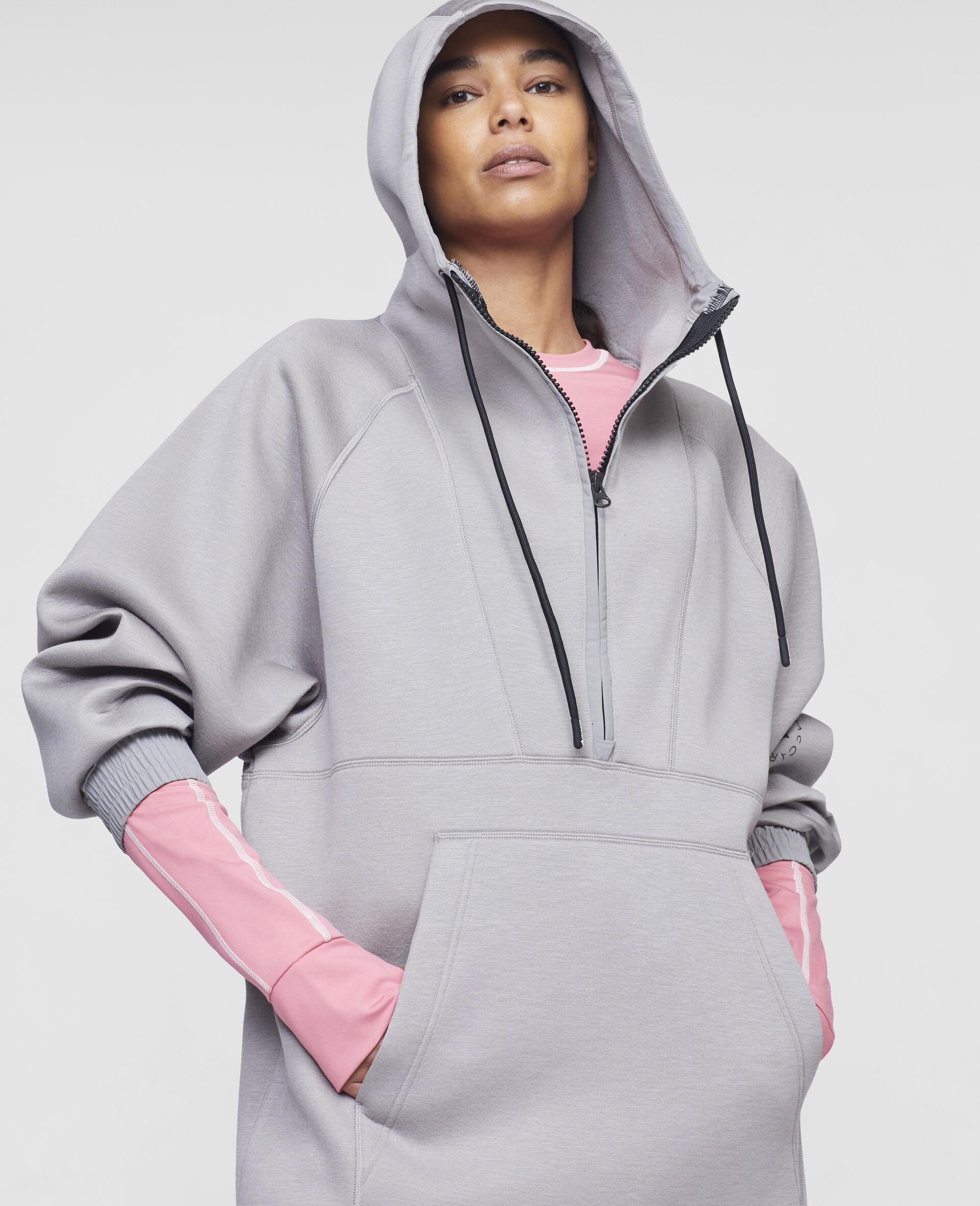 Grey Training Hoodie-Grey-large image number 3